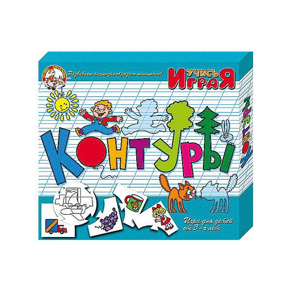 Игра обучающая  Контуры, Десятое королевствоОкружающий мир<br>Игра обучающая Контуры, Десятое королевство<br><br>Характеристики:<br><br>• Возраст: от 3 лет<br>• Количество игроков: от 1 до 10<br>• В комплекте: 10 карточек заданий, 4 карточки с ответами<br><br>В этой увлекательной обучающей игре могут участвовать одновременно от 1 до 10 детей! В наборе содержатся 10 карточек-заданий, на которых изображены рисунки по теме контуров. К каждой необходимо найти 4 карточки-ответа, чтобы дополнить их содержание. В процессе игры дети учатся находить нужный контур к предмету, развивают логическое мышление и память, работают над мелкой моторикой и расширяют свои знания и представления об окружающем мире.<br><br>Игра обучающая Контуры, Десятое королевство можно купить в нашем интернет-магазине.<br>Ширина мм: 230; Глубина мм: 200; Высота мм: 35; Вес г: 230; Возраст от месяцев: 84; Возраст до месяцев: 2147483647; Пол: Унисекс; Возраст: Детский; SKU: 5471673;