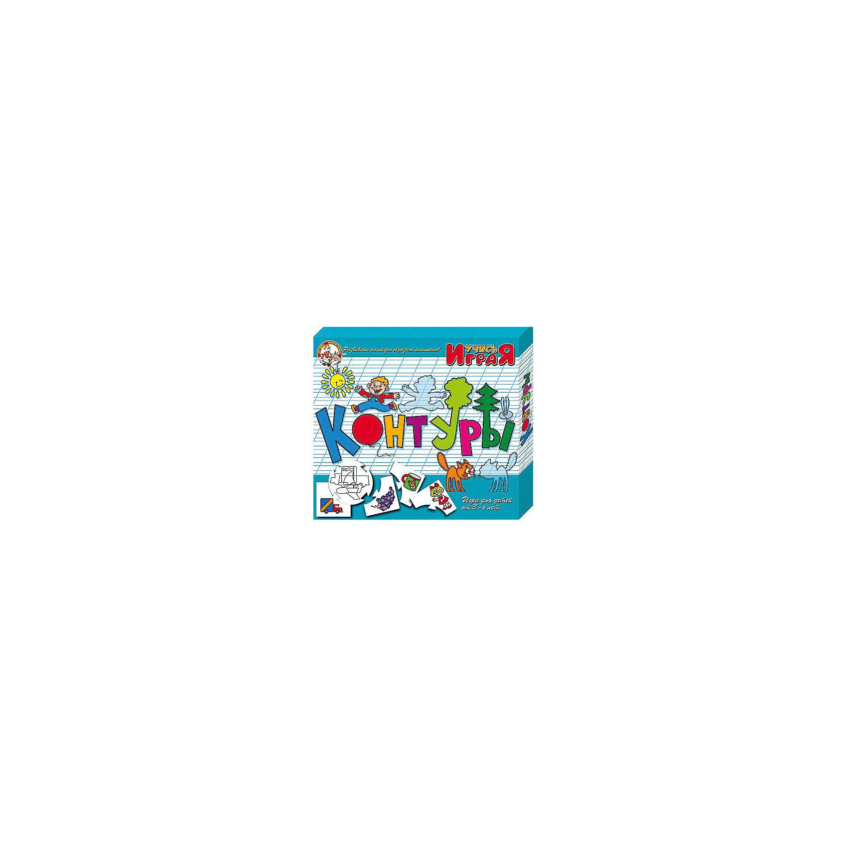 Игра обучающая  Контуры, Десятое королевствоОбучающие карточки<br>Игра обучающая Контуры, Десятое королевство<br><br>Характеристики:<br><br>• Возраст: от 3 лет<br>• Количество игроков: от 1 до 10<br>• В комплекте: 10 карточек заданий, 4 карточки с ответами<br><br>В этой увлекательной обучающей игре могут участвовать одновременно от 1 до 10 детей! В наборе содержатся 10 карточек-заданий, на которых изображены рисунки по теме контуров. К каждой необходимо найти 4 карточки-ответа, чтобы дополнить их содержание. В процессе игры дети учатся находить нужный контур к предмету, развивают логическое мышление и память, работают над мелкой моторикой и расширяют свои знания и представления об окружающем мире.<br><br>Игра обучающая Контуры, Десятое королевство можно купить в нашем интернет-магазине.<br><br>Ширина мм: 230<br>Глубина мм: 200<br>Высота мм: 35<br>Вес г: 230<br>Возраст от месяцев: 84<br>Возраст до месяцев: 2147483647<br>Пол: Унисекс<br>Возраст: Детский<br>SKU: 5471673