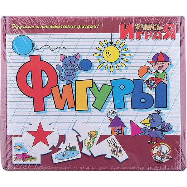 Игра обучающая  Фигуры, Десятое королевствоИзучаем цвета и формы<br>Игра обучающая Фигуры, Десятое королевство<br><br>Характеристики:<br><br>• Возраст: от 3 лет<br>• Количество игроков: от 1 до 10<br>• В комплекте: 10 карточек заданий, 4 карточки с ответами<br><br>В этой увлекательной обучающей игре могут участвовать одновременно от 1 до 10 детей! В наборе содержатся 10 карточек-заданий, на которых изображены рисунки по теме «фигуры». К каждой необходимо найти 4 карточки-ответа, чтобы дополнить их содержание. В процессе игры дети исследуют разнообразные фигуры и запоминают их, работают над мелкой моторикой и расширяют свои знания и представления об окружающем мире.<br><br>Игра обучающая Фигуры, Десятое королевство можно купить в нашем интернет-магазине.<br>Ширина мм: 230; Глубина мм: 200; Высота мм: 35; Вес г: 240; Возраст от месяцев: 84; Возраст до месяцев: 2147483647; Пол: Унисекс; Возраст: Детский; SKU: 5471682;
