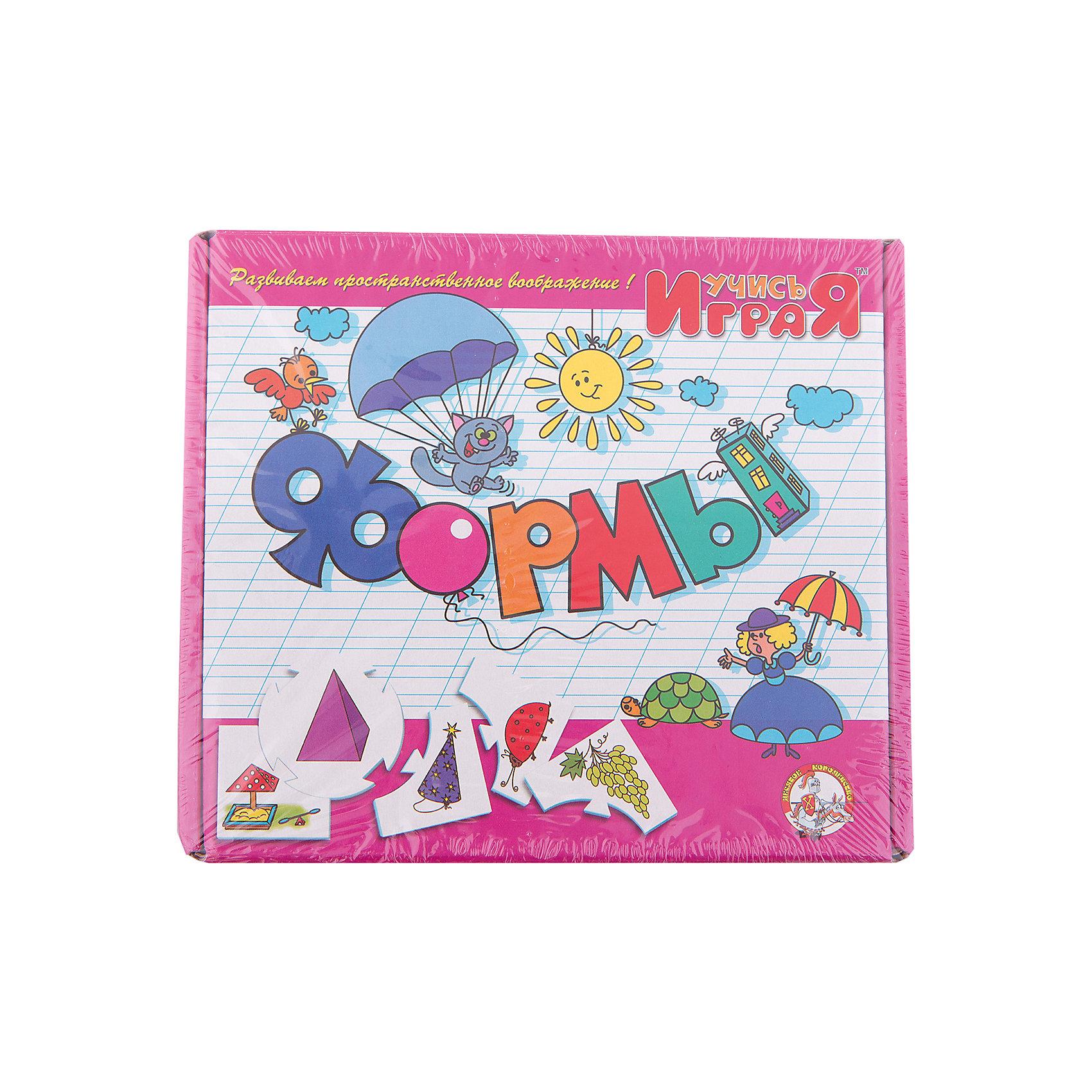 Игра обучающая  Формы, Десятое королевствоИзучаем цвета и формы<br>Игра обучающая Формы, Десятое королевство<br><br>Характеристики:<br><br>• Возраст: от 3 лет<br>• Количество игроков: от 1 до 10<br>• В комплекте: 10 карточек заданий, 4 карточки с ответами<br><br>В этой увлекательной обучающей игре могут участвовать одновременно от 1 до 10 детей! В наборе содержатся 10 карточек-заданий, на которых изображены рисунки по теме «формы». К каждой необходимо найти 4 карточки-ответа, чтобы дополнить их содержание. В процессе игры дети исследуют разнообразные формы и запоминают их, работают над мелкой моторикой и расширяют свои знания и представления об окружающем мире.<br><br>Игра обучающая Формы, Десятое королевство можно купить в нашем интернет-магазине.<br><br>Ширина мм: 230<br>Глубина мм: 200<br>Высота мм: 35<br>Вес г: 240<br>Возраст от месяцев: 84<br>Возраст до месяцев: 2147483647<br>Пол: Унисекс<br>Возраст: Детский<br>SKU: 5471683