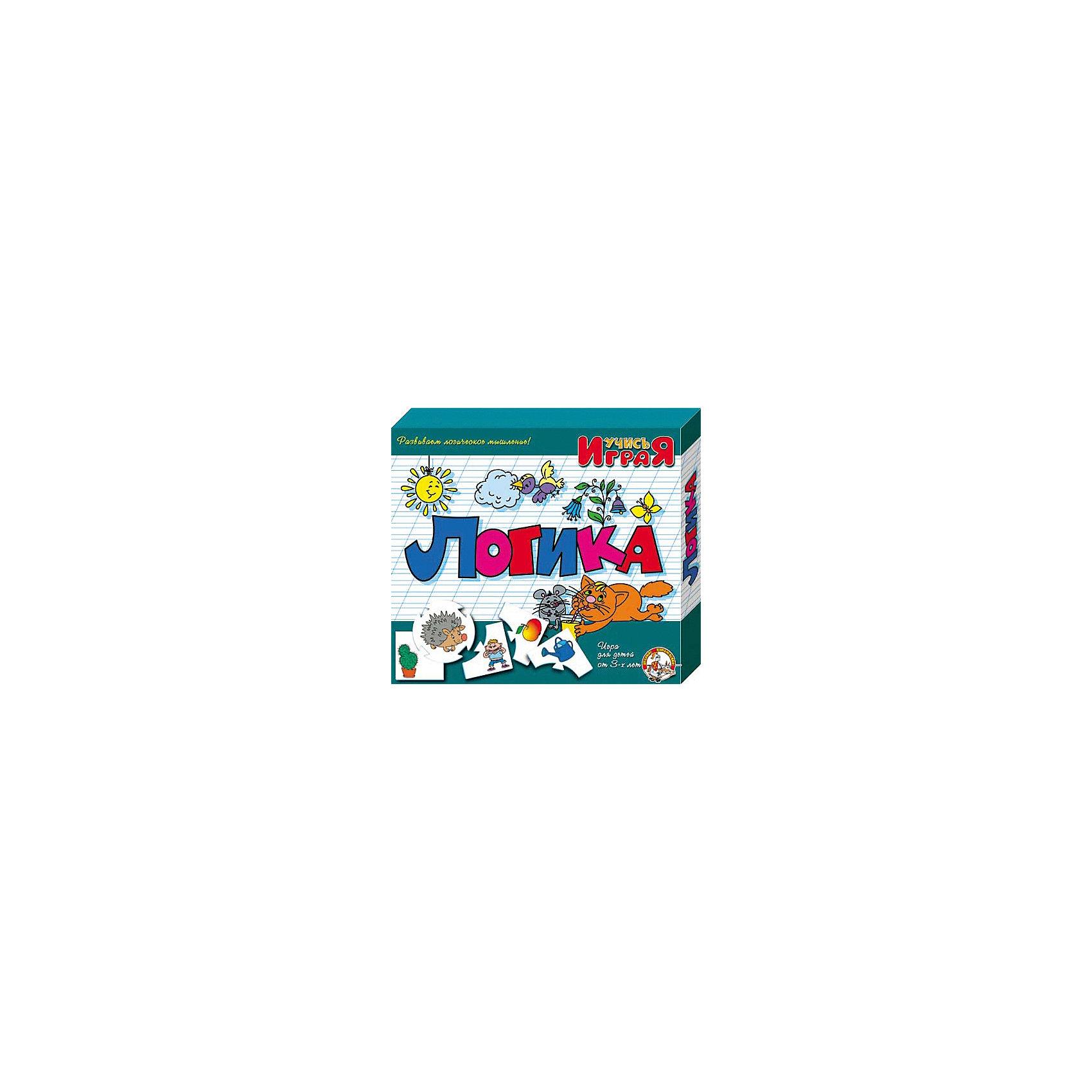 Игра обучающая  Логика, Десятое королевствоРазвивающие игры<br>Игра обучающая Логика, Десятое королевство<br><br>Характеристики:<br><br>• Возраст: от 3 лет<br>• Количество игроков: от 1 до 10<br>• В комплекте: 10 карточек заданий, 4 карточки с ответами<br><br>В этой увлекательной обучающей игре могут участвовать одновременно от 1 до 10 детей! В наборе содержатся 10 карточек-заданий, на которых изображены рисунки. К каждой необходимо найти 4 карточки-ответа, чтобы дополнить их содержание. В процессе игры дети работают над мелкой моторикой и расширяют свои знания и представления об окружающем мире.<br><br>Игра обучающая Логика, Десятое королевство можно купить в нашем интернет-магазине.<br><br>Ширина мм: 230<br>Глубина мм: 200<br>Высота мм: 35<br>Вес г: 230<br>Возраст от месяцев: 84<br>Возраст до месяцев: 2147483647<br>Пол: Унисекс<br>Возраст: Детский<br>SKU: 5471698