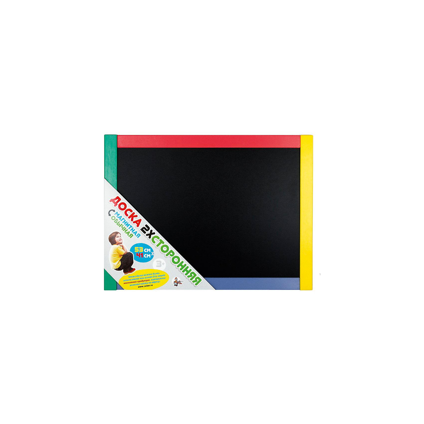 Доска магнитно-маркерная, Десятое королевствоМебель<br>Доска магнитно-маркерная, Десятое королевство<br><br>Характеристики:<br><br>• Возраст: от 5 лет<br>• Габаритный размер: 53х41 см <br>• Размер игрового поля: 47х34см <br>• Рамка: цветная<br>• В комплекте: доска, сумка ПВХ<br><br>Эта магнитная доска может использоваться самым различным образом - как для простого детского творчества, так и для обучения ребенка буквам и основам счета . Одна сторона доски пригодна для рисования мелом, другая - для магнитов и специальных маркеров. Бесцветную рамку ребенок сможет сам раскрасить по своему желанию.<br><br>Доска магнитно-маркерная, Десятое королевство можно купить в нашем интернет-магазине.<br><br>Ширина мм: 535<br>Глубина мм: 410<br>Высота мм: 15<br>Вес г: 1395<br>Возраст от месяцев: 36<br>Возраст до месяцев: 60<br>Пол: Унисекс<br>Возраст: Детский<br>SKU: 5471709