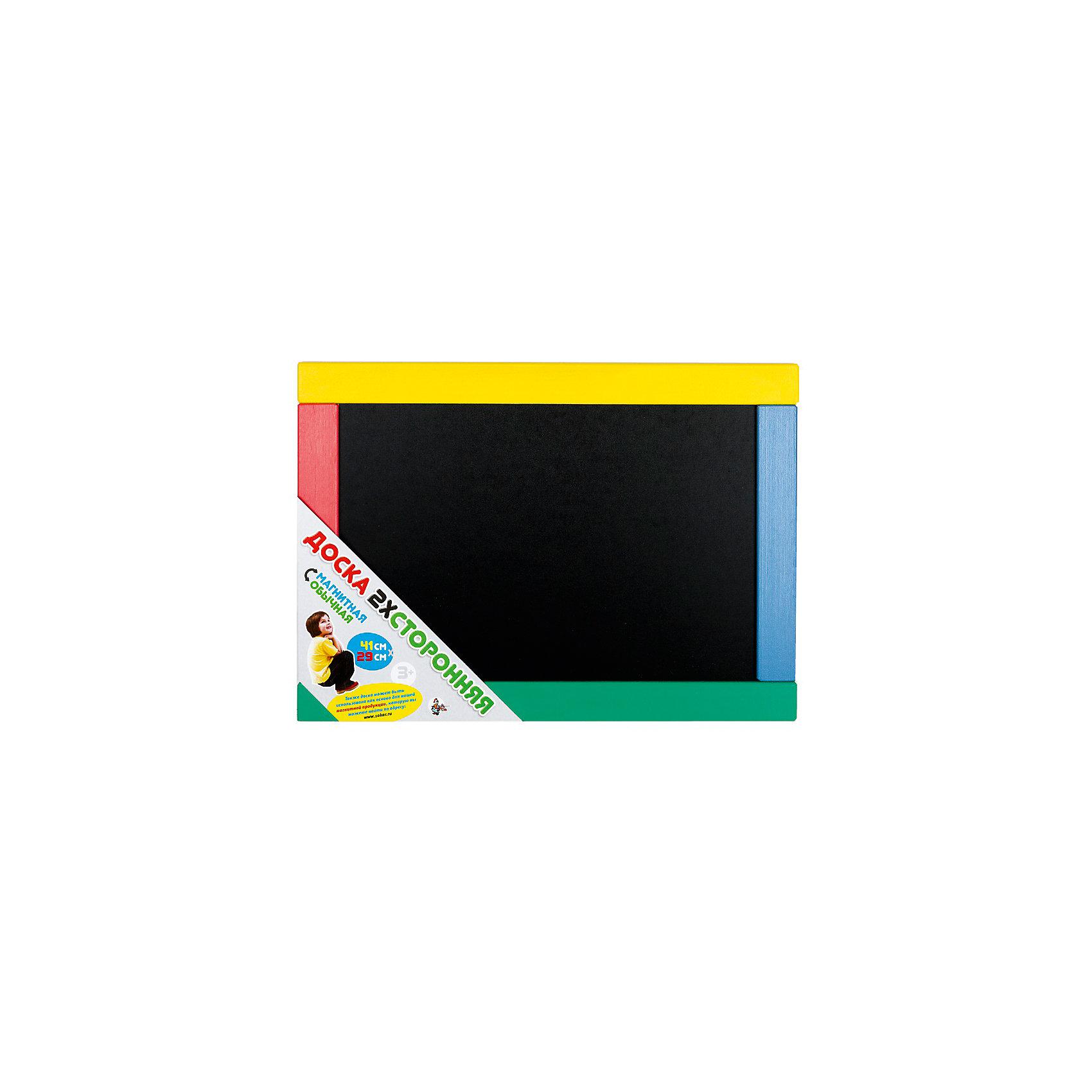 Доска магнитно-маркерная, Десятое королевствоМебель<br>Доска магнитно-маркерная, Десятое королевство<br><br>Характеристики:<br><br>• Возраст: от 5 лет<br>• Габаритный размер: 41х29 см <br>• Размер игрового поля: 34х22см <br>• Рамка: цветная<br>• В комплекте: доска, сумка ПВХ<br><br>Эта магнитная доска может использоваться самым различным образом - как для простого детского творчества, так и для обучения ребенка буквам и основам счета . Одна сторона доски пригодна для рисования мелом, другая - для магнитов и специальных маркеров. Бесцветную рамку ребенок сможет сам раскрасить по своему желанию.<br><br>Доска магнитно-маркерная, Десятое королевство можно купить в нашем интернет-магазине.<br><br>Ширина мм: 410<br>Глубина мм: 295<br>Высота мм: 15<br>Вес г: 814<br>Возраст от месяцев: 36<br>Возраст до месяцев: 60<br>Пол: Унисекс<br>Возраст: Детский<br>SKU: 5471710