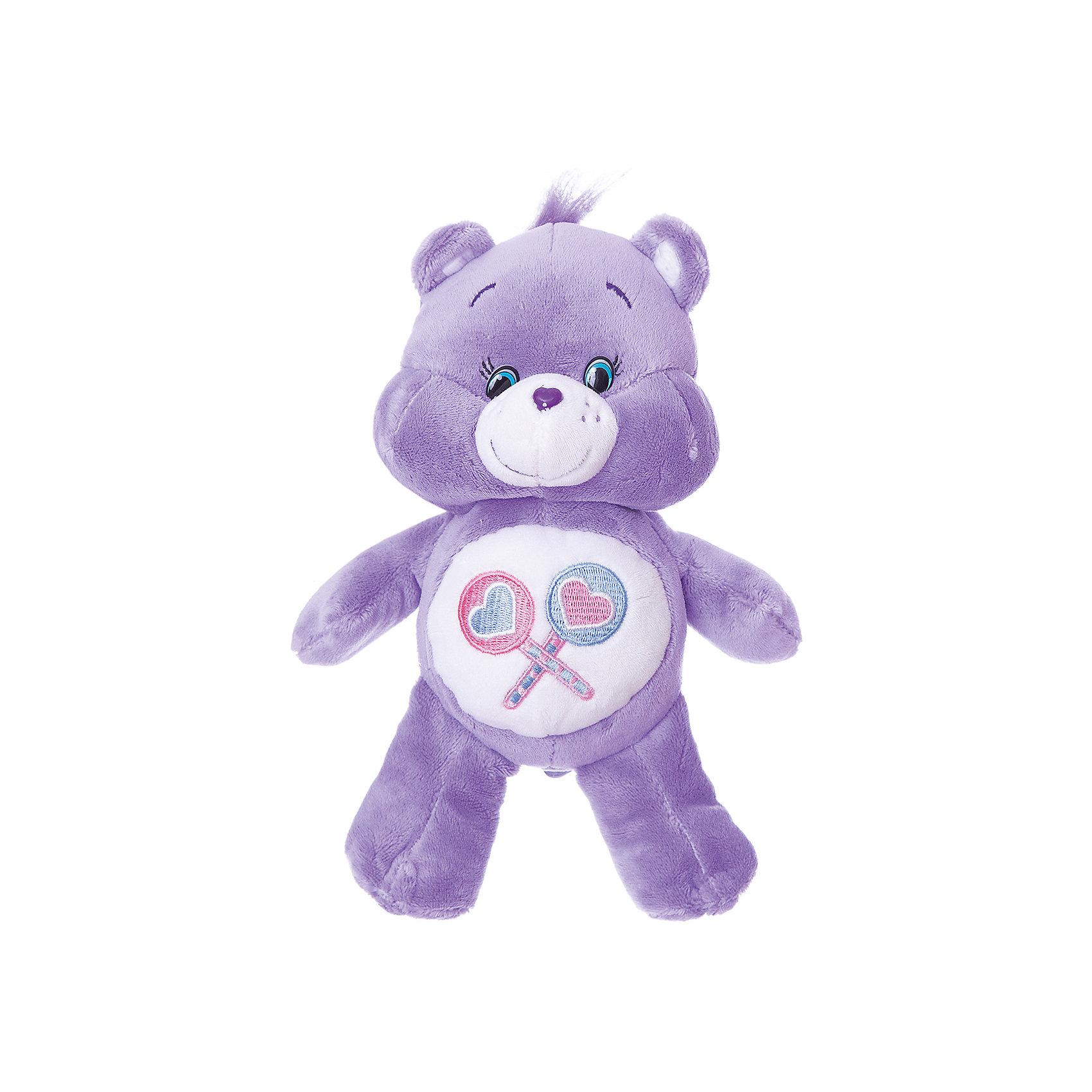 Мягкая игрушка Милашка, Заботливые мишки, 20 смЛюбимые герои<br>Мишка Милашка - очень милый и обаятельный медвежонок, который обязательно станет верным другом вашему ребенку. Плюшевую очаровашку можно взять с собой на прогулку, с ней невероятно весело играть, а как сладко спать в своей мягкой постельке, нежно обнимая любимого медвежонка! Играя и разговаривая с Милашкой, ваш малыш будет развивать воображение и речь, получая удовольствие от общения с очаровательной игрушкой.&#13;<br>Мягкая сиреневая игрушка Милашка ТМ Заботливые Мишки высотой 20 см сшита из мягкого, приятного на ощупь плюша, плотно набита. Товар сертифицирован. Упаковка - пакет.<br><br>Ширина мм: 210<br>Глубина мм: 130<br>Высота мм: 85<br>Вес г: 80<br>Возраст от месяцев: 36<br>Возраст до месяцев: 60<br>Пол: Унисекс<br>Возраст: Детский<br>SKU: 5471901