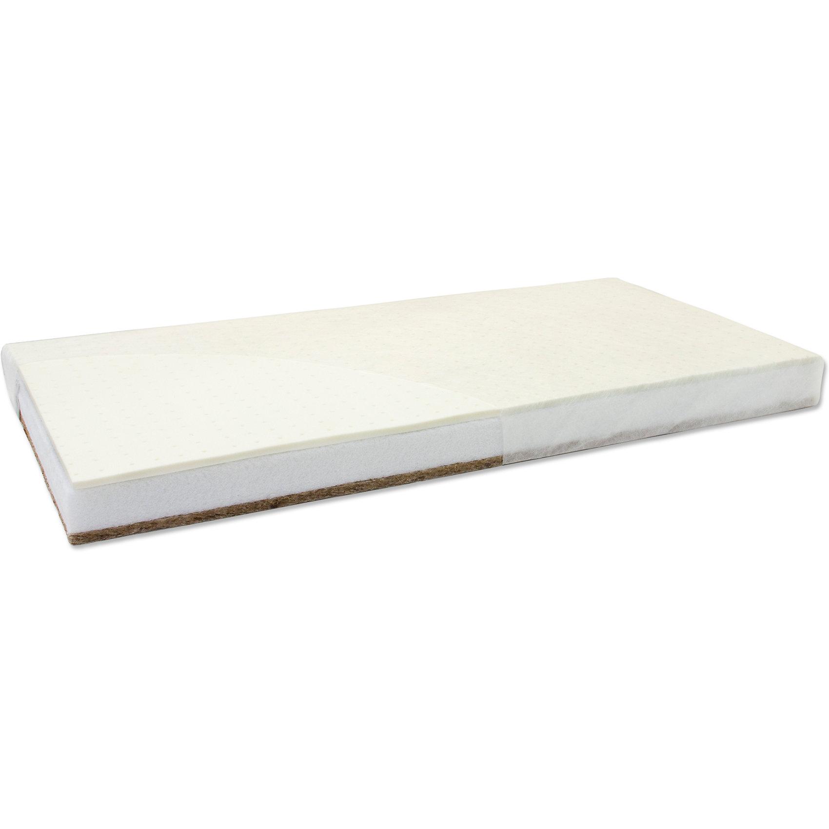 Матрас Барон фаворит 119*60 хол.хард кокос/латекс, чехол жаккард, Седьмое небоХарактеристики:<br><br>• размер матраса: 119х60х8 см;<br>• размер кроватки: 120х60 см;<br>• тип матраса: ортопедический;<br>• материал матраса: двусторонний, кокос и латекс;<br>• наполнитель: холкон;<br>• материал чехла: жаккард;<br>• оберточный материал матраса: спанбондом;<br>• чехол можно снять и постирать при температуре 30 градусов.<br><br>Двусторонний матрас - это вариант 2в1 для детей от рождения до 2-3 лет. Кокос более плотный и предназначен для новорожденных, чтобы малыш лежал на ровной твердой поверхности. Латекс более мягкий, имеет анатомическую форму. Матрас позволяет ребенку расслабиться, снять напряжение мышц. Материал матраса и его наполнитель не накапливают пыль, являются гипоаллергенными. Чехол с матраса можно снять и постирать в стиральной машине. Матрас предназначен для кроваток с размером спального места: 120х60 см.<br><br>Матрас Барон фаворит 119*60 хол.хард кокос/латекс, чехол жаккард, Седьмое небо можно купить в нашем интернет-магазине.<br><br>Ширина мм: 85<br>Глубина мм: 120<br>Высота мм: 1190<br>Вес г: 4000<br>Возраст от месяцев: 0<br>Возраст до месяцев: 36<br>Пол: Унисекс<br>Возраст: Детский<br>SKU: 5472585