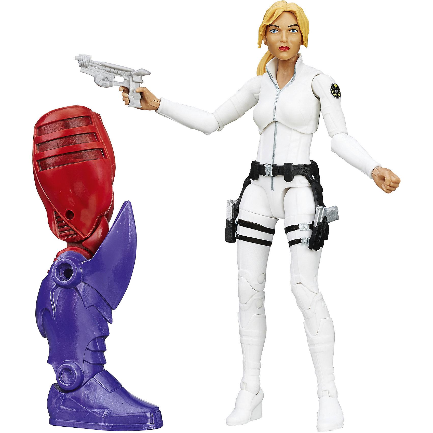 Коллекционная фигурка Мстителей 15 см, B6355/B6724Фигурки героев<br>Характеристики товара:<br><br>• возраст: от 4 лет;<br>• материал: пластик;<br>• в комплекте: фигурка, аксессуары;<br>• высота фигурки: 15 см;<br>• размер упаковки: 26х15х6 см;<br>• вес упаковки: 270 гр.;<br>• страна производитель: Китай.<br><br>Коллекционная фигурка Марвел «Первый мститель. Шэрон Картер» Hasbro представляет собой одного из героев комиксов Марвел. Шэрон Картер известна как Агент 13 и является секретным агентом организации ЩИТ. <br><br>У фигурки несколько подвижных элементов, благодаря чему она принимает различные позы. В серии представлено несколько персонажей, в комплекте с которыми идет дополнительная деталь. Она позволит собрать одного из самых известных злодеев — Красного Черепа.<br><br>Коллекционную фигурку Марвел «Первый мститель. Шэрон Картер» Hasbro можно приобрести в нашем интернет-магазине.<br><br>Ширина мм: 64<br>Глубина мм: 152<br>Высота мм: 267<br>Вес г: 294<br>Возраст от месяцев: 48<br>Возраст до месяцев: 192<br>Пол: Унисекс<br>Возраст: Детский<br>SKU: 5473704
