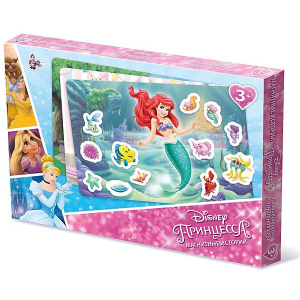 Игра Магнитные истории Принцессы Дисней, Десятое королевствоНастольные игры для всей семьи<br>Игра Магнитные истории Принцессы Дисней, Десятое королевство<br><br>Характеристики: <br><br>• Возраст: от 5 лет<br>• Материал: пенополистирол<br>• В комплекте: магнитная доска, фишки-магниты <br><br>Эта игрушка подойдет для детей от 3 до 7 лет и позволит им развить конструкторские навыки, мелкую моторику и воображение. В наборе содержатся фишки разной геометрической формы, из которых можно создавать различные картинки с принцессами диснея. <br><br>Фишки выполнены на магнитной основе, для большего удобства вашего малыша. В комплекте содержится фишки разных цветов, выполненных из приятного на ощупь материала. <br><br>Игра Магнитные истории Принцессы Дисней, Десятое королевство можно купить в нашем интернет-магазине.<br>Ширина мм: 364; Глубина мм: 263; Высота мм: 34; Вес г: 616; Возраст от месяцев: 60; Возраст до месяцев: 84; Пол: Женский; Возраст: Детский; SKU: 5473743;