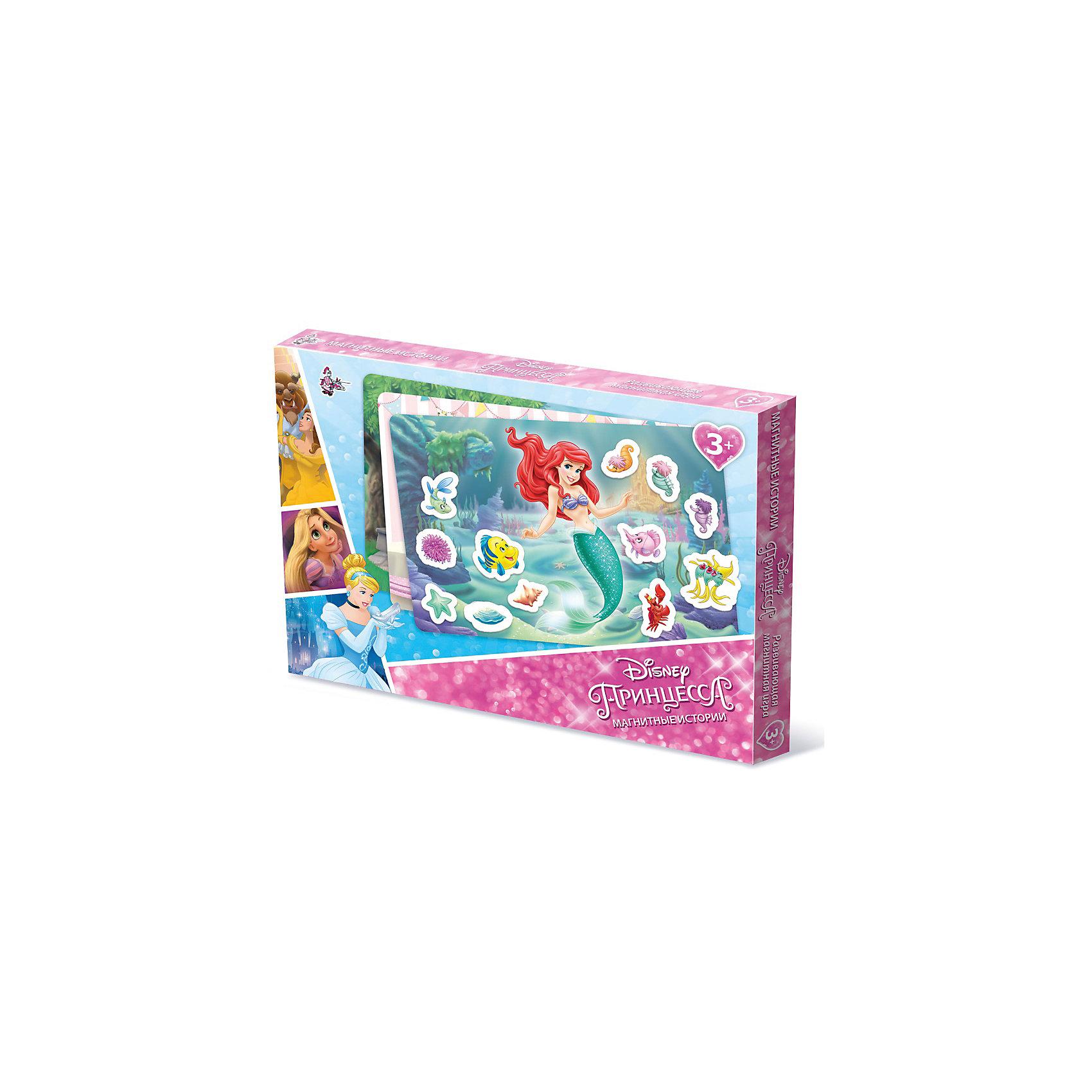 Игра Магнитные истории Принцессы Дисней, Десятое королевствоРазвивающие игры<br>Игра Магнитные истории Принцессы Дисней, Десятое королевство<br><br>Характеристики: <br><br>• Возраст: от 5 лет<br>• Материал: пенополистирол<br>• В комплекте: магнитная доска, фишки-магниты <br><br>Эта игрушка подойдет для детей от 3 до 7 лет и позволит им развить конструкторские навыки, мелкую моторику и воображение. В наборе содержатся фишки разной геометрической формы, из которых можно создавать различные картинки с принцессами диснея. <br><br>Фишки выполнены на магнитной основе, для большего удобства вашего малыша. В комплекте содержится фишки разных цветов, выполненных из приятного на ощупь материала. <br><br>Игра Магнитные истории Принцессы Дисней, Десятое королевство можно купить в нашем интернет-магазине.<br><br>Ширина мм: 364<br>Глубина мм: 263<br>Высота мм: 34<br>Вес г: 616<br>Возраст от месяцев: 60<br>Возраст до месяцев: 84<br>Пол: Женский<br>Возраст: Детский<br>SKU: 5473743
