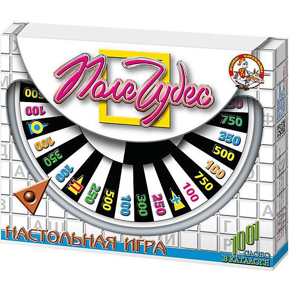 Настольная игра Поле чудес, Десятое королевствоНастольные игры для всей семьи<br>Настольная игра Поле чудес, Десятое королевство<br><br>Характеристики: <br><br>• Возраст: от 5 лет<br>• Материал: картон, бумага, пластик<br>• Количество участников: от 2<br>• В комплекте: игровое поле, барабан, 4 табло, 3 карточки, инструкция на русском языке<br><br>Этот набор сделан по мотивам знаменитой игры Поле чудес. В нем даже содержится символ этой игры - барабан. В комплекте есть игровое поле, 4 табло, 4 карточки и инструкция на русском языке, а так же 800 вопросов разных уровней сложности, что позволяет подобрать подходящие и интересные задания для каждого возраста.<br><br>Настольная игра Поле чудес, Десятое королевство можно купить в нашем интернет-магазине.<br>Ширина мм: 450; Глубина мм: 350; Высота мм: 50; Вес г: 652; Возраст от месяцев: 36; Возраст до месяцев: 60; Пол: Унисекс; Возраст: Детский; SKU: 5473745;