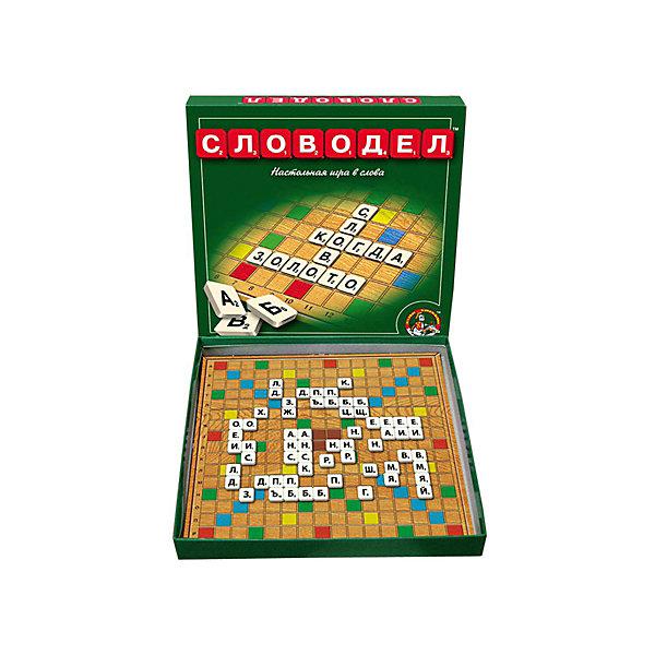 Настольная игра Словодел, Десятое королевствоИгры со словами<br>Настольная игра Словодел, Десятое королевство<br><br>Характеристики: <br><br>• Возраст: от 7 лет<br>• Материал: картон, бумага<br>• Количество участников: от 2<br>• В комплекте: игровое поле, 130 фишек<br><br>В этой игре необходимо соревноваться, подбирая как можно более длинные слова и зарабатывая на этом очки. В нее можно играть вместе с детьми и в ходе игры помочь ребенку узнать новые слова, развить словарный запас и повысить уровень грамотности. <br><br>Игрушка сделана из пластика и картона и содержит в наборе игровое поле, пластмассовые фишки в количестве 120 штук, а также 10 дополнительных фишек. Игра Словодел - это отличный способ в игровой и развлекательной форме повысить общую эрудицию вашего ребенка.<br><br>Настольная игра Словодел, Десятое королевство можно купить в нашем интернет-магазине.<br>Ширина мм: 280; Глубина мм: 280; Высота мм: 35; Вес г: 428; Возраст от месяцев: 60; Возраст до месяцев: 84; Пол: Унисекс; Возраст: Детский; SKU: 5473747;