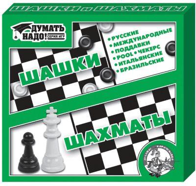 Настольная игра Шашки, шахматы , Десятое королевство