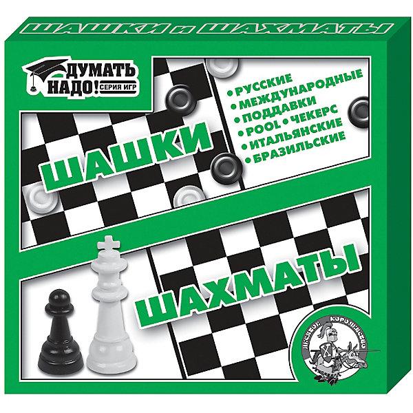 Настольная игра Шашки, шахматы, Десятое королевствоСпортивные настольные игры<br>Настольная игра Шашки, шахматы, Десятое королевство<br><br>Характеристики: <br><br>• Возраст: от 7 лет<br>• Материал: пластик, картон<br>• Количество участников: от 2<br>• В комплекте: жесткое двустороннее поле размером 21 х 19 см - 1 шт.,маленькие пластмассовые шашки - 40 шт (20 белых и 20 черных), небольшие пластмассовые шахматные фигуры 32 шт (16 белых фигур и 16 черных), правила игры<br><br>Набор содержит в себе две классические игры – шахматы и шашки. Эти игры смогут развить интеллект, сообразительность и логическое мышление у ребенка. Благодаря подробным правилам ребенок и родители смогут научиться не только базовой игре, но и узнают о других видах игры в шашки и шахматы.<br><br>Настольная игра Шашки, шахматы, Десятое королевство можно купить в нашем интернет-магазине.<br>Ширина мм: 230; Глубина мм: 200; Высота мм: 35; Вес г: 228; Возраст от месяцев: 36; Возраст до месяцев: 60; Пол: Унисекс; Возраст: Детский; SKU: 5473751;