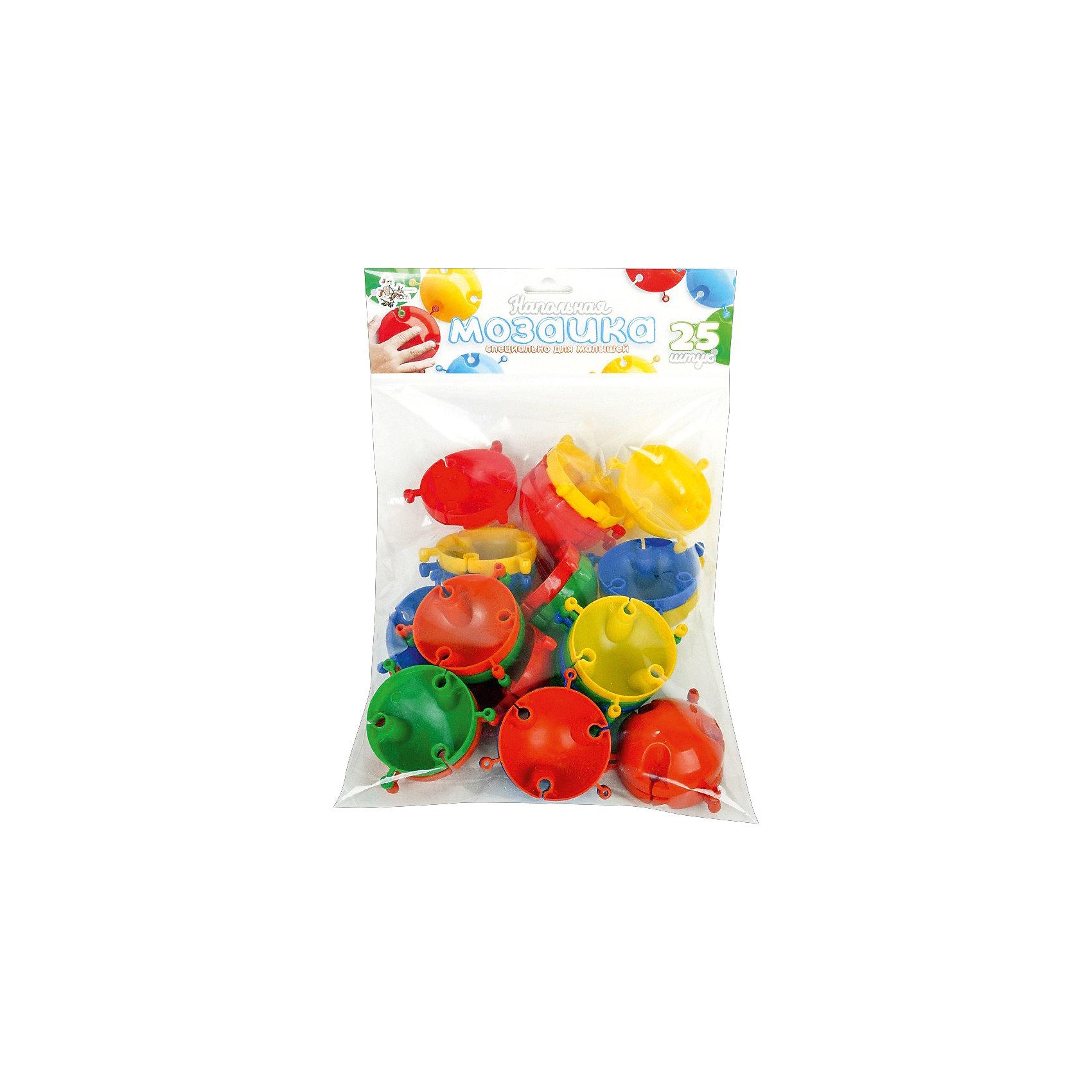 Напольная мозаика с крупными фишками, 25 деталей, Десятое королевствоМозаика<br>Напольная мозаика с крупными фишками, 25 деталей, Десятое королевство<br><br>Характеристики: <br><br>• Возраст: от 3 лет<br>• Материал: пластик<br>• Цвет: синий, красный, желтый, зеленый, голубой<br>• В комплекте: фишки (25 штук), наклейки-глазки<br><br>Из фишек этого набора ваш ребенок сможет собирать фигурки животных, а так же что угодно еще, на что хватит у него воображения. Всего в наборе содержится 25 цветных фишек 5-ти цветов: синий, красный, желтый, зеленый, голубой и глазки-наклейки для детализации животных. <br><br>Так как размер каждого элемента достигает 6 см, ваш ребенок сможет собирать действительно большие изображения. Благодаря тому, что каждая фигурка снабжена особыми пазами, для их использования не требуется применение отдельного игрового поля.<br><br>Напольная мозаика с крупными фишками, 25 деталей, Десятое королевство можно купить в нашем интернет-магазине.<br><br>Ширина мм: 350<br>Глубина мм: 228<br>Высота мм: 70<br>Вес г: 202<br>Возраст от месяцев: 36<br>Возраст до месяцев: 60<br>Пол: Унисекс<br>Возраст: Детский<br>SKU: 5473770