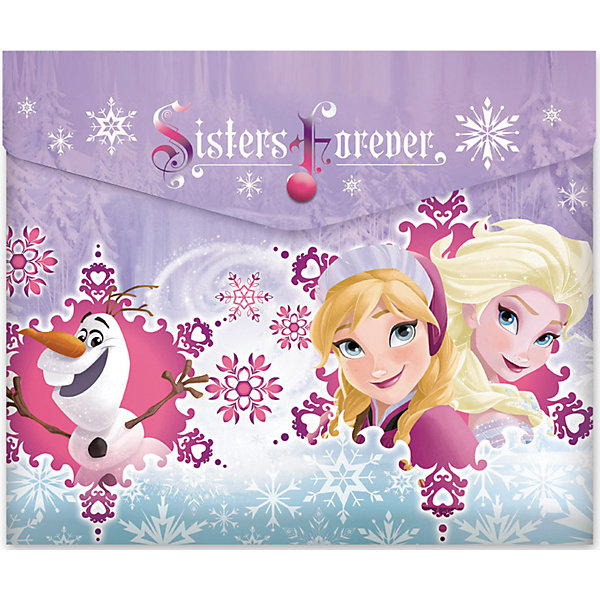 Пластиковая папка-конверт на кнопке для тетрадей Frozen, DisneyПапки для тетрадей<br>Характеристики товара:<br><br>• тип: папка - конверт<br>• пол: для девочек<br>• возраст: от 3-хлет <br>• формат: А 4 <br>• тип замка: кнопка<br>• материал: пластик <br>• размеры: 31х22х1 см.<br>• вес: 23 г.<br>• бренд: Disney<br>• страна изготовления: Россия<br><br>Пластиковая папка-конверт на кнопке для тетрадей с полноцветным лицензионным дизайном Disney Frozen. Формат - горизонтальный. <br><br>Пластиковую папку-конверт на кнопке для тетрадей Disney Frozen можно купить в нашем интернет-магазине.<br>Ширина мм: 245; Глубина мм: 30; Высота мм: 210; Вес г: 21; Возраст от месяцев: 36; Возраст до месяцев: 120; Пол: Женский; Возраст: Детский; SKU: 5475472;
