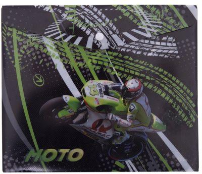Limpopo Пластиковая Папка-Конверт На Кнопке Для Тетрадей Мотоцикл