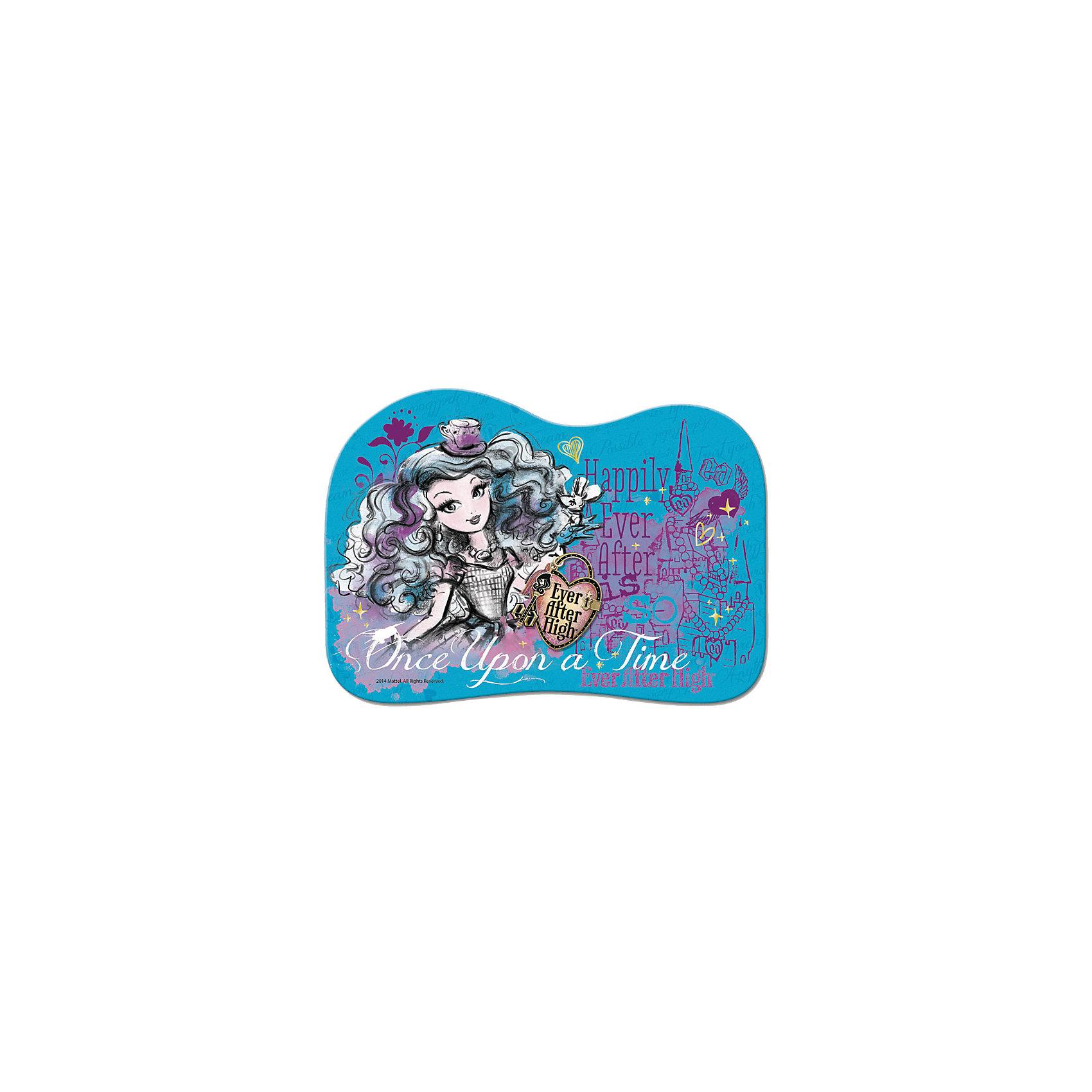 Подкладка настольная для лепки пластиковая, Ever After High, MattelФигурная настольная подкладка для лепки с трогательным лицензионным полноцветным дизайном Mattel Ever After High сделает творческий процесс приятнее для детей и родителей.<br>Выполнена из 100% полипропилена. Размер 15*21см. Сделана в Санкт-Петербурге.<br><br>Ширина мм: 210<br>Глубина мм: 10<br>Высота мм: 150<br>Вес г: 16<br>Возраст от месяцев: 48<br>Возраст до месяцев: 96<br>Пол: Женский<br>Возраст: Детский<br>SKU: 5475490