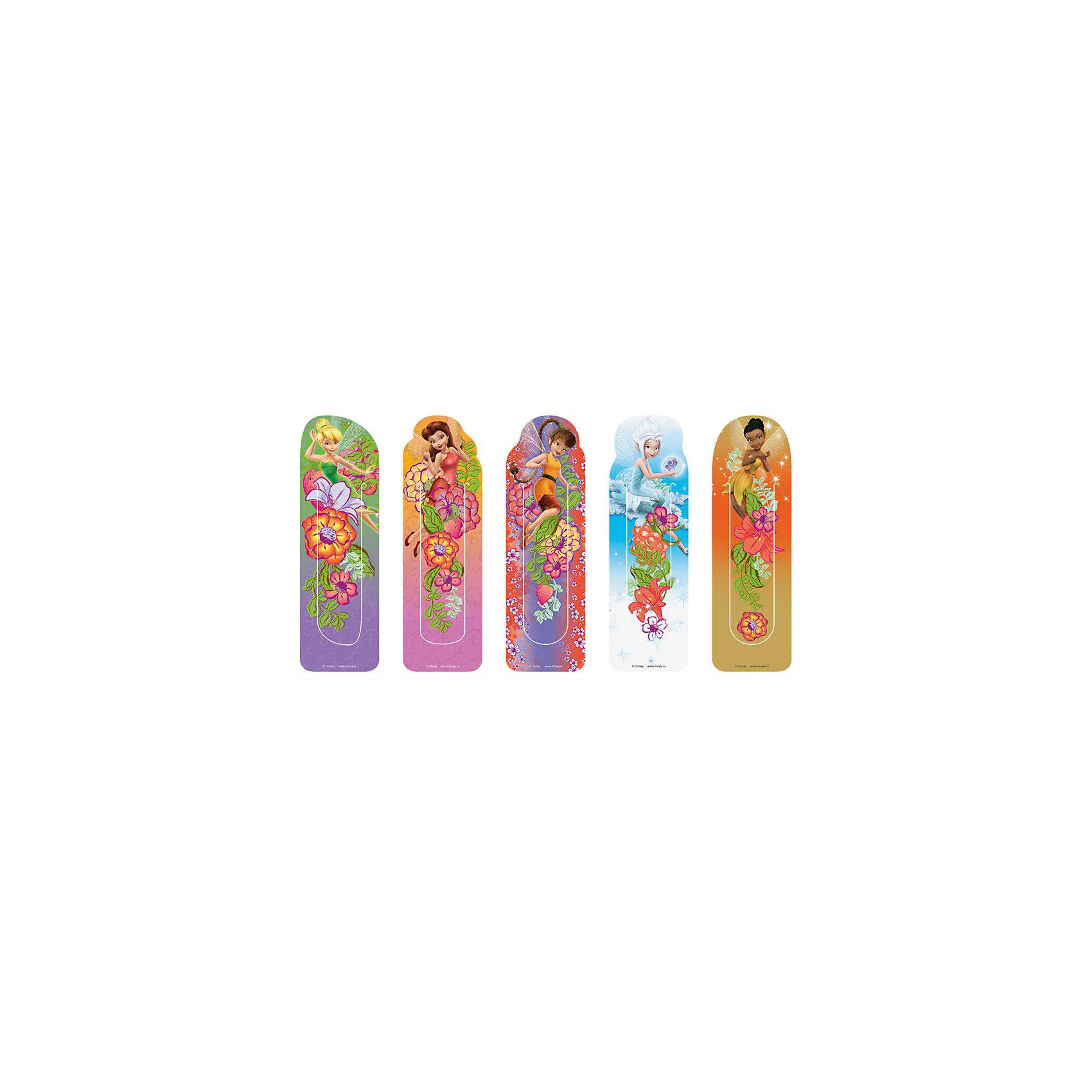 Набор пластиковых закладок Феи, DisneyФотоальбомы, закладки и ростомеры<br>Характеристики набора пластиковых закладок Феи, Disney: <br><br>• тип: закладки магнитно-пластиковые.<br>• упаковка: блистер<br>• размер упаковки: 18 см ? 6 см ? 0,2 см<br>• вес:18 г<br>• страна обладатель бренда: США<br>• страна изготовления: Россия<br><br>Набор фигурных закладок лицензионного дизайна Disney Феи по мотивам популярного мультфильма. В блистере 5 штук. Материал - полипропилен. Изготовлены в Санкт-Петербурге.<br><br>Набор фигурных закладок лицензионного дизайна Disney Феи можно купить в нашем интернет-магазине.<br><br>Ширина мм: 260<br>Глубина мм: 30<br>Высота мм: 75<br>Вес г: 19<br>Возраст от месяцев: 48<br>Возраст до месяцев: 144<br>Пол: Женский<br>Возраст: Детский<br>SKU: 5475495