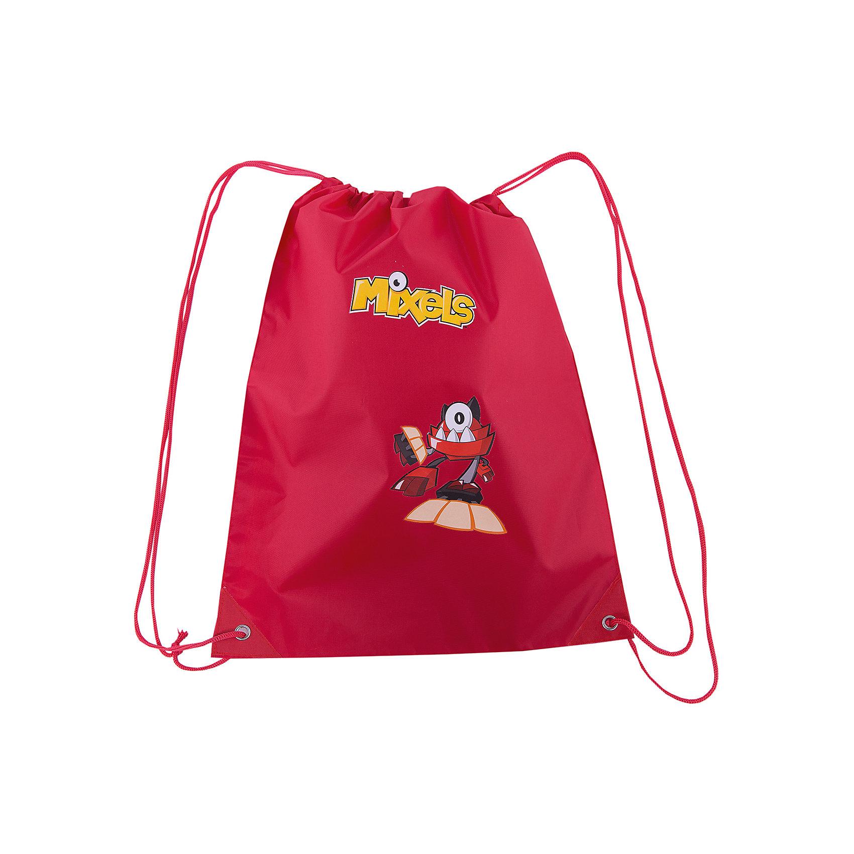 Мешок для обуви Premium Light, красный, МixelsСумка-рюкзак для обуви красного цвета Mixels  от Lego с изображением любимых героев мультфильма- незаменимая вещь в учебе ребёнка!<br> Удобный и очень легкий мешок, украшен ярким принтом с изображением любимого героя. Может использоваться как для хранения, так и для переноски сменной обуви и спортивной одежды. Выполнен из высококачественного полиэстера плотностью 210 den и имеет водоотталкивающее покрытие. Затягивается сверху шнуром-лямкой и носится, как рюкзак.<br><br>Ширина мм: 430<br>Глубина мм: 30<br>Высота мм: 350<br>Вес г: 45<br>Возраст от месяцев: 48<br>Возраст до месяцев: 144<br>Пол: Мужской<br>Возраст: Детский<br>SKU: 5475515
