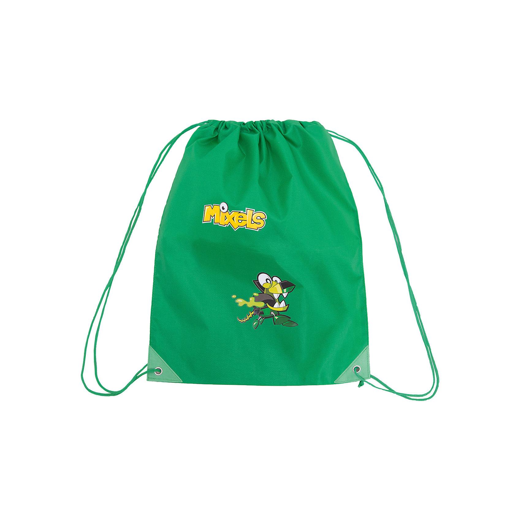 Мешок для обуви Premium Light, зеленый, МixelsСумка-рюкзак для обуви красного цвета Mixels  от Lego с изображением любимых героев мультфильма- незаменимая вещь в учебе ребёнка!<br> Удобный и очень легкий мешок, украшен ярким принтом с изображением любимого героя. Может использоваться как для хранения, так и для переноски сменной обуви и спортивной одежды. Выполнен из высококачественного полиэстера плотностью 210 den и имеет водоотталкивающее покрытие. Затягивается сверху шнуром-лямкой и носится, как рюкзак.<br><br>Ширина мм: 430<br>Глубина мм: 30<br>Высота мм: 350<br>Вес г: 45<br>Возраст от месяцев: 48<br>Возраст до месяцев: 144<br>Пол: Мужской<br>Возраст: Детский<br>SKU: 5475516
