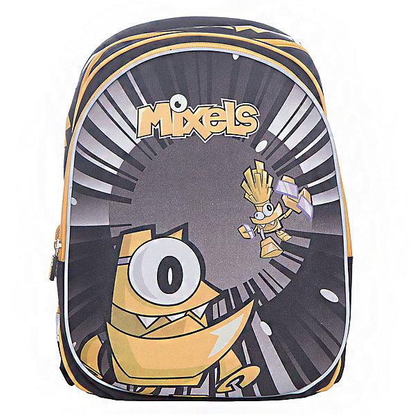 Ранец с двумя отделениями на молнии Super bag, MixelsРюкзаки<br>Характеристики товара:<br><br>• тип: рюкзак<br>• цвет: желтый<br>• состав: полиэстер<br>• пол: для мальчика<br>• вид застежки: молния<br>• размеры: 39х20х30 см<br>• количество отделений: 3 шт.<br>• сезон: круглогодичный<br>• бренд: Limpopo<br>• страна бренда: США<br>• страна производитель: Китай<br><br>Стильный ранец Super bag Mixels - вместительный и в тоже время невероятно легкий и удобный ранец c изображением любимых сказочных персонажей, послужит отличным помощников в учебе для маленького школьника. <br><br>Внутри ранца находятся три больших отделения, снаружи два боковых кармана- сеточки, а дно оснащено устойчивыми ножками, защищающими от воды и грязи. <br><br>Красочный передний клапан выполнен из EVA-материала, который обеспечивает долговечность и износоустйчивость ранца. <br><br>Модель ранца Super bag Mixels снабжена светоотражающими элементами, широкими регулируемыми лямками, а также эргономичной спинкой, повторяющей естественный изгиб позвоночника. <br><br>Ранец украшен фирменными брелочками и брендированными нашивками.<br><br>Ранец с тремя отделениями на молнии Super bag, Mixels торговой марки Limpopo можно купить в нашем интернет-магазине.<br>Ширина мм: 300; Глубина мм: 3900; Высота мм: 200; Вес г: 900; Возраст от месяцев: 72; Возраст до месяцев: 96; Пол: Мужской; Возраст: Детский; SKU: 5475520;