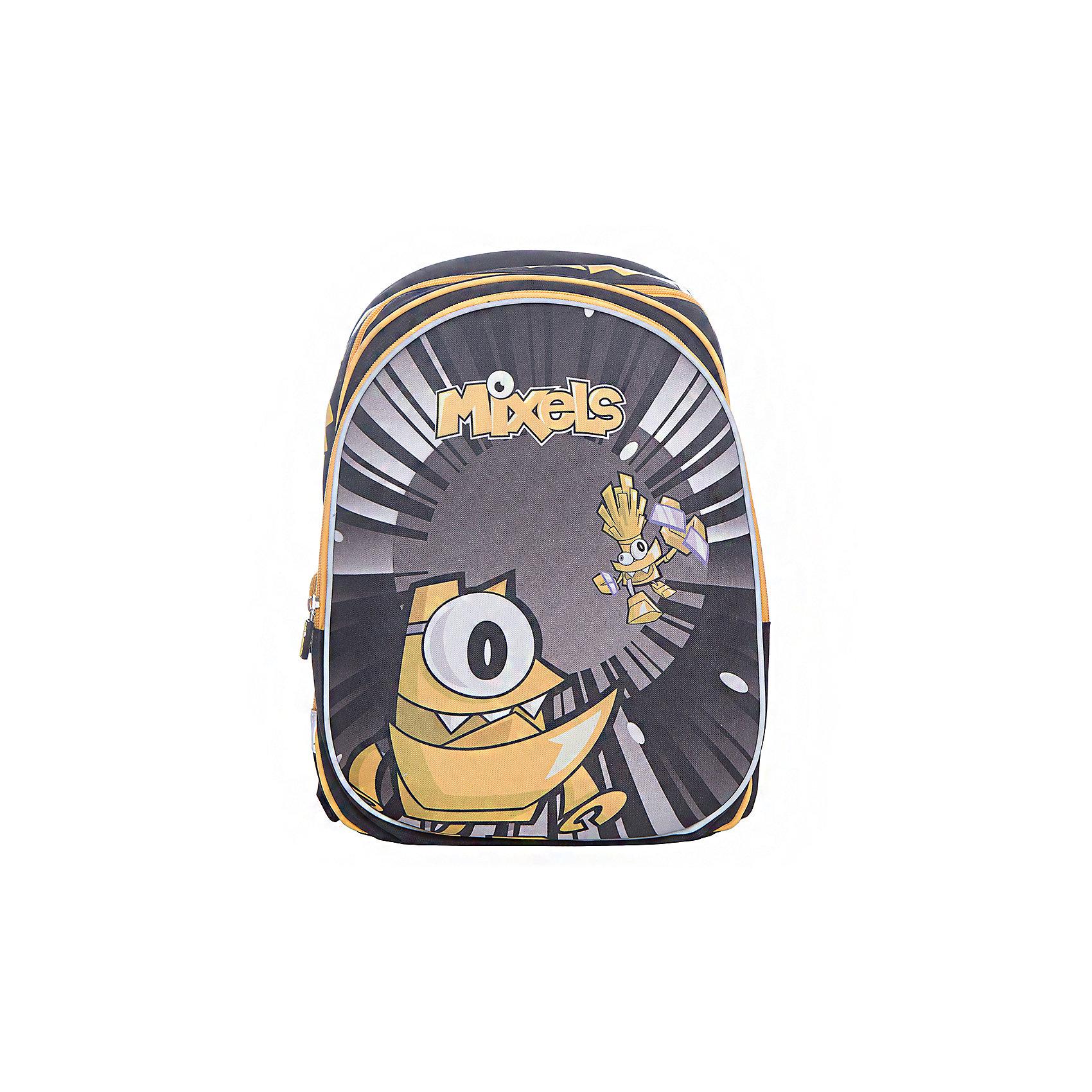 Ранец с двумя отделениями на молнии Super bag, MixelsРюкзаки<br>Характеристики товара:<br><br>• тип: рюкзак<br>• цвет: желтый<br>• состав: полиэстер<br>• пол: для мальчика<br>• вид застежки: молния<br>• размеры: 39х20х30 см<br>• количество отделений: 3 шт.<br>• сезон: круглогодичный<br>• бренд: Limpopo<br>• страна бренда: США<br>• страна производитель: Китай<br><br>Стильный ранец Super bag Mixels - вместительный и в тоже время невероятно легкий и удобный ранец c изображением любимых сказочных персонажей, послужит отличным помощников в учебе для маленького школьника. <br><br>Внутри ранца находятся три больших отделения, снаружи два боковых кармана- сеточки, а дно оснащено устойчивыми ножками, защищающими от воды и грязи. <br><br>Красочный передний клапан выполнен из EVA-материала, который обеспечивает долговечность и износоустйчивость ранца. <br><br>Модель ранца Super bag Mixels снабжена светоотражающими элементами, широкими регулируемыми лямками, а также эргономичной спинкой, повторяющей естественный изгиб позвоночника. <br><br>Ранец украшен фирменными брелочками и брендированными нашивками.<br><br>Ранец с тремя отделениями на молнии Super bag, Mixels торговой марки Limpopo можно купить в нашем интернет-магазине.<br><br>Ширина мм: 300<br>Глубина мм: 3900<br>Высота мм: 200<br>Вес г: 900<br>Возраст от месяцев: 72<br>Возраст до месяцев: 96<br>Пол: Мужской<br>Возраст: Детский<br>SKU: 5475520