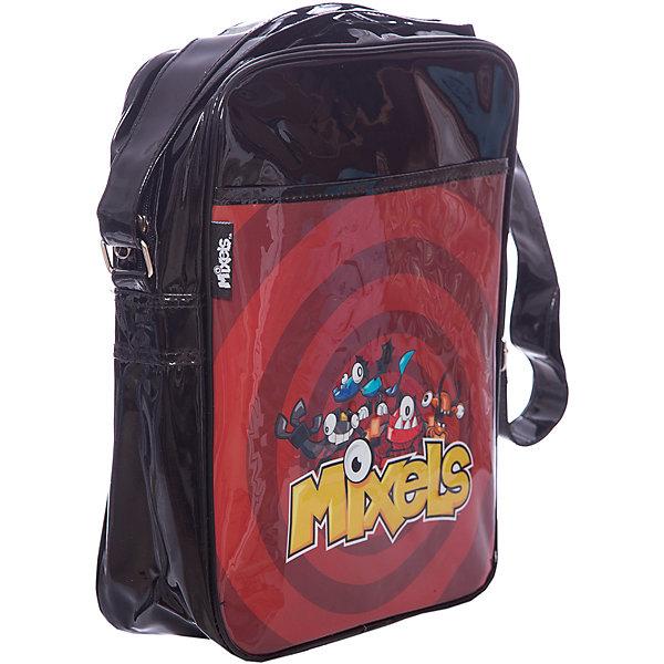Сумка Lucky bag, Mixels, цвет красный с чернымШкольные сумки<br>Характеристики товара:<br><br>• тип: сумка<br>• цвет: черный<br>• материал: полиэстер<br>• вид застежки: молния<br>• фактура материала: текстильный<br>• размеры : 32х26х8,5 см<br>• количество отсеков: 1 шт.<br>• назначение ремня: на плечо<br>• карманы: внутренний открытый<br>• вид сумки: маленькая; через плечо<br>• сезон: круглогодичный<br>• пол: для мальчика и девочки<br>• бренд: Limpopo<br>• страна бренда: США<br>• страна производитель: Китай<br><br>Сумка Lucky bag LEGO Mixels отделение на молнии, передний карман, регулируемый плечевой ремень  черный с красным 32*26*8,5 см.<br><br>Сумку Lucky bag LEGO Mixels можно купить в нашем интернет-магазине.<br><br>Ширина мм: 350<br>Глубина мм: 400<br>Высота мм: 310<br>Вес г: 320<br>Возраст от месяцев: 48<br>Возраст до месяцев: 96<br>Пол: Мужской<br>Возраст: Детский<br>SKU: 5475521