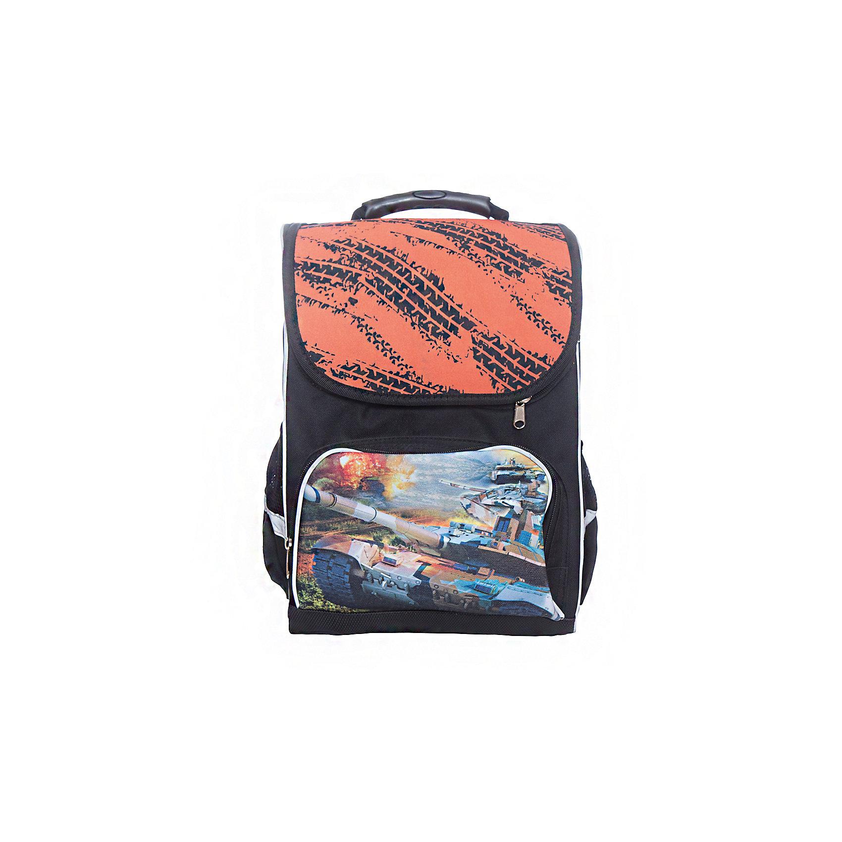Ранец жесткий Premium box Танки, цвет черно-зеленыйРанцы<br>Характеристики товара:<br><br>• тип: рюкзак, начальная школа<br>• цвет: черно-зеленый <br>• состав: полиэстер 100%<br>• пол: для девочки<br>• вид застежки: молния<br>• размеры: 18 х 28 х 37 см<br>• сезон: круглогодичный<br>• бренд: Limpopo<br>• страна бренда: США<br>• страна производитель: Китай<br><br>Ранец Premium box Танки, предназначенный для учеников младших классов, выполнен в стильном, ярком дизайне, отличается надежной и крепкой конструкцией, которая придется по душе самому взыскательному покупателю. <br><br>Жетский каркас не позволит ранцу сгибаться и терять форму. <br><br>Снаружи ранец оснащен двумя боковыми карманами- сеточками одним передним карманом на замке, а также устойчивым дном на ножках, защищающим от загрязнения. <br><br>Внутри ранца находятся три вместительных отдела. Модель ранца Premium box Танки соответствует всем необходимым для здоровья и безопасности ребенка требованиям, а именно расположенными на лямках и передней части ранца светоотражающими элементами, широкими регулируемыми лямками, а также эргономичной спинкой, повторяющей естественный изгиб позвоночника.<br><br>Жесткий ранец Premium box Танки, черно-зеленого цвета торговой марки Limpopo можно купить в нашем интернет-магазине.<br><br>Ширина мм: 180<br>Глубина мм: 4200<br>Высота мм: 300<br>Вес г: 975<br>Возраст от месяцев: 72<br>Возраст до месяцев: 96<br>Пол: Мужской<br>Возраст: Детский<br>SKU: 5475525