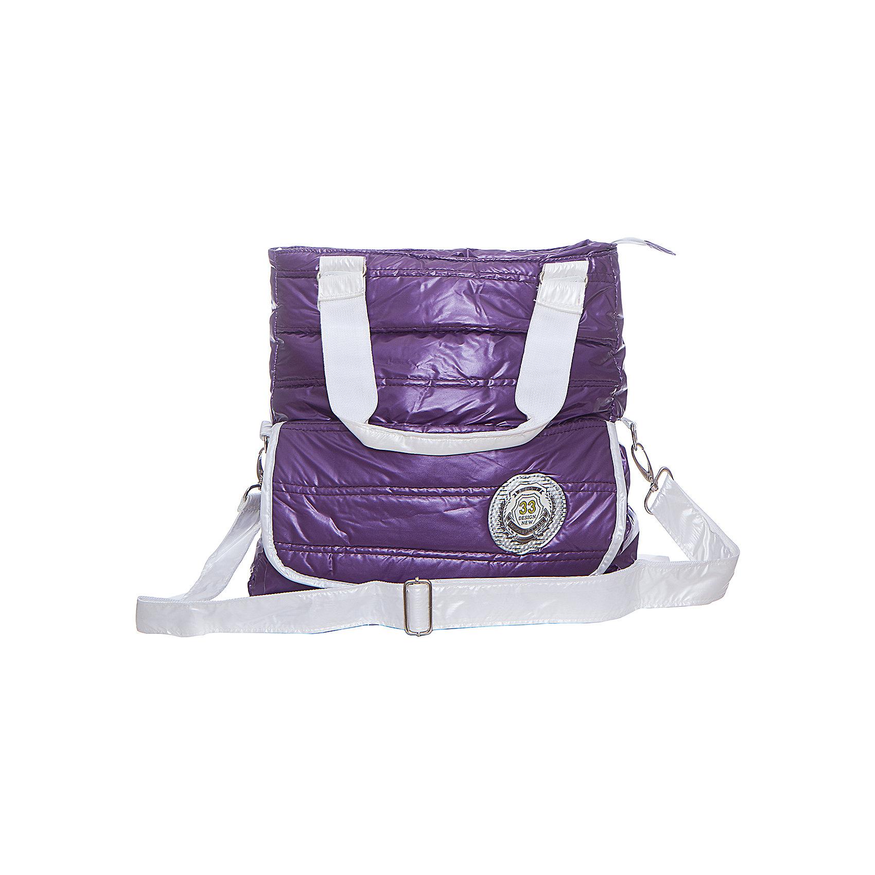 Сумка Bubble Check Yo, цвет фиолетовыйШкольные сумки<br>Интересная модель для отдыха и учёбы. Насыщенный цвет. Непромакаемый материал. Прочная и очень лёгкая сумка. Одно отделение на молнии. Регулируемый плечевой ремень. Большой передний карман на липучке.<br><br>Ширина мм: 400<br>Глубина мм: 200<br>Высота мм: 350<br>Вес г: 900<br>Возраст от месяцев: 48<br>Возраст до месяцев: 96<br>Пол: Женский<br>Возраст: Детский<br>SKU: 5475528