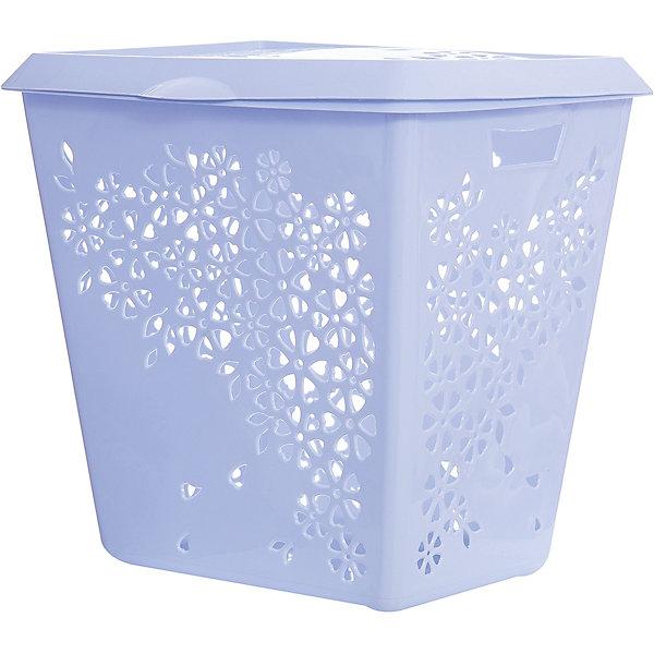 Корзина для белья Эстель , Alternativa, голубойКорзины для белья<br>Корзина для белья Эстель, Alternativa (Альтернатива), голубой<br><br>Характеристики:<br><br>• красивый дизайн<br>• удобная ручка крышки и выемки для переноса<br>• материал: пластик<br>• цвет: голубой<br>• размер: 45,5х38,8х45,5 см<br>• вес: 2,5 кг<br><br>Эстель - корзина для белья, изготовленная из качественного прочного пластика. Она имеет две выемки по бокам для удобства переноса. Крышка оснащена небольшой ручкой, с помощью которой вы с легкостью откроете корзину при необходимости. Изделие оформлено цветочным узором, который, к тому же, служит вентиляцией. Он препятствует появлению неприятного запаха от белья.<br><br>Корзина для белья Эстель, Alternativa (Альтернатива), голубой можно купить в нашем интернет-магазине.<br>Ширина мм: 455; Глубина мм: 388; Высота мм: 445; Вес г: 2500; Возраст от месяцев: 36; Возраст до месяцев: 1188; Пол: Унисекс; Возраст: Детский; SKU: 5475645;