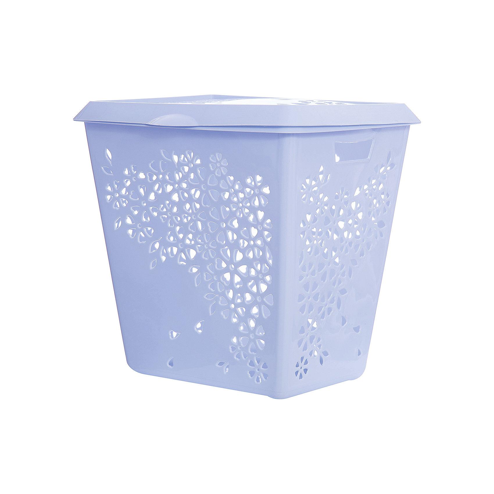 Корзина для белья Эстель , Alternativa, голубойВанная комната<br>Корзина для белья Эстель, Alternativa (Альтернатива), голубой<br><br>Характеристики:<br><br>• красивый дизайн<br>• удобная ручка крышки и выемки для переноса<br>• материал: пластик<br>• цвет: голубой<br>• размер: 45,5х38,8х45,5 см<br>• вес: 2,5 кг<br><br>Эстель - корзина для белья, изготовленная из качественного прочного пластика. Она имеет две выемки по бокам для удобства переноса. Крышка оснащена небольшой ручкой, с помощью которой вы с легкостью откроете корзину при необходимости. Изделие оформлено цветочным узором, который, к тому же, служит вентиляцией. Он препятствует появлению неприятного запаха от белья.<br><br>Корзина для белья Эстель, Alternativa (Альтернатива), голубой можно купить в нашем интернет-магазине.<br><br>Ширина мм: 455<br>Глубина мм: 388<br>Высота мм: 445<br>Вес г: 2500<br>Возраст от месяцев: 36<br>Возраст до месяцев: 1188<br>Пол: Унисекс<br>Возраст: Детский<br>SKU: 5475645
