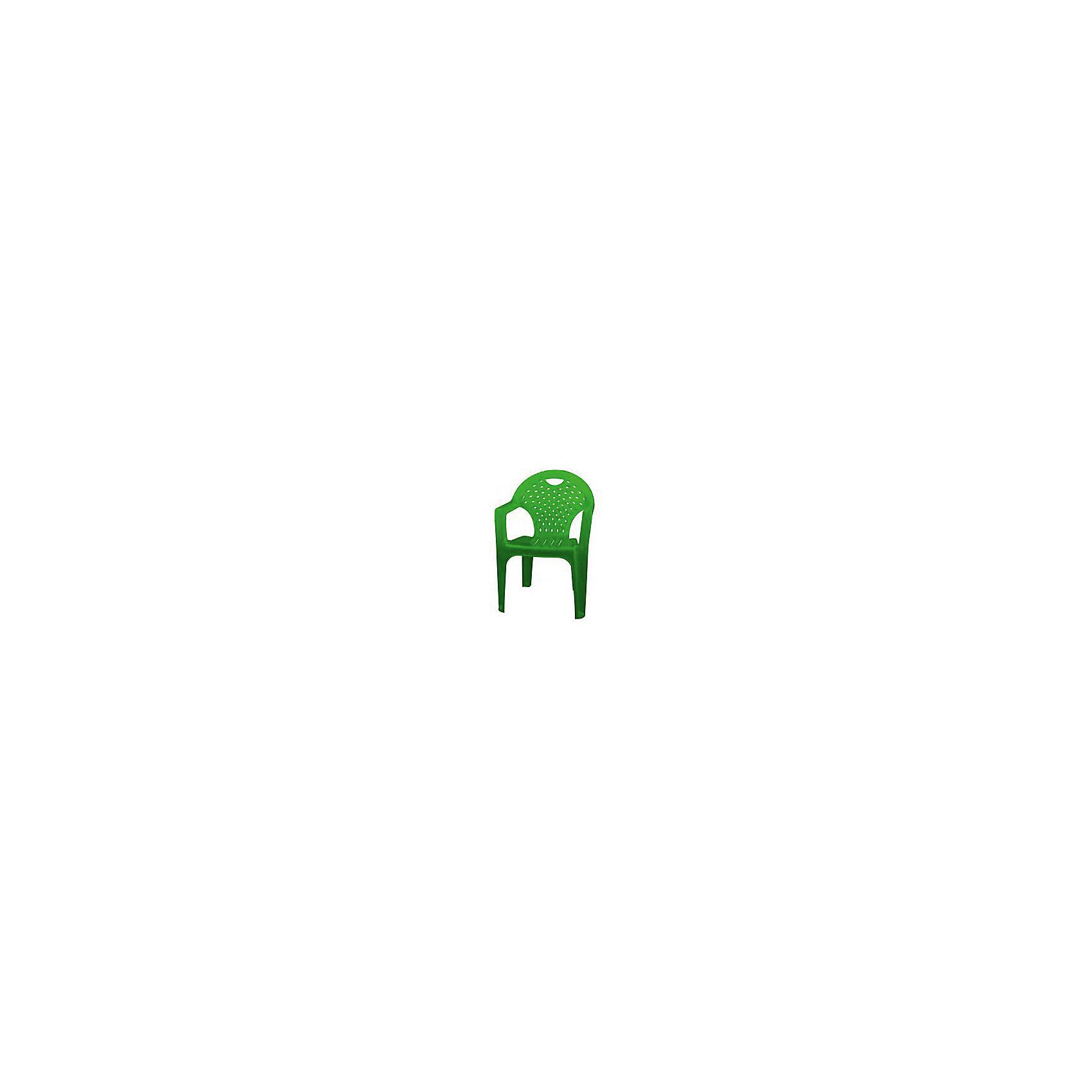 Кресло, Alternativa, зелёныйМебель<br>Кресло, Alternativa (Альтернатива), зеленый<br><br>Характеристики:<br><br>• лаконичный дизайн<br>• изготовлено из прочного пластика<br>• размер: 58,5х54х80 см<br>• цвет: зеленый<br>• вес: 1,95 кг<br><br>Кресло от российского производителя Альтернатива изготовлено из прочного пластика с хорошей износостойкостью. Удобная конструкция позволит вам с легкостью очистить изделие от загрязнений. Кресло имеет комфортное сидение с углублением и подлокотники. Лаконичный дизайн кресла хорошо впишется в интерьер вашего дома.<br><br>Кресло, Alternativa (Альтернатива), зеленый можно купить в нашем интернет-магазине.<br><br>Ширина мм: 585<br>Глубина мм: 540<br>Высота мм: 800<br>Вес г: 1950<br>Возраст от месяцев: 216<br>Возраст до месяцев: 1188<br>Пол: Унисекс<br>Возраст: Детский<br>SKU: 5475649