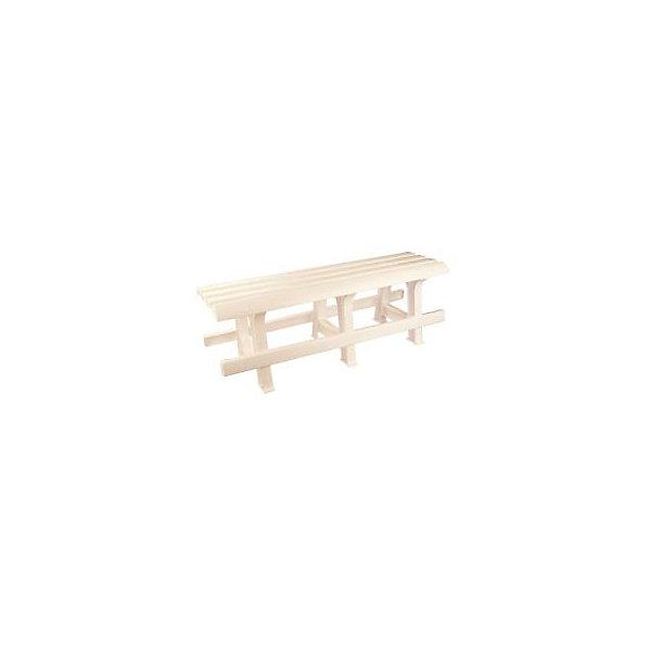 Скамейка Люкс 120х40х42, Alternativa, белыйДетские столы и стулья<br>Скамейка Люкс 120х40х42, Alternativa (Альтернатива), белый<br><br>Характеристики<br><br>• лаконичный дизайн<br>• хорошая устойчивость<br>• легко мыть<br>• материал: пластик<br>• цвет: белый<br>• размер 120х40х42 см<br>• вес: 4,79 кг<br><br>Скамейка Люкс - отличный вариант для дачи или сада. Она изготовлена из качественного пластика, который, к тому же, легко моется. Скамейка легко собирается и обладает хорошей устойчивостью. Лаконичный дизайн прекрасно подойдет к любому интерьеру.<br><br>Скамейку Люкс 120х40х42, Alternativa (Альтернатива), белый вы можете купить в нашем интернет-магазине.<br><br>Ширина мм: 1200<br>Глубина мм: 400<br>Высота мм: 400<br>Вес г: 4790<br>Возраст от месяцев: 216<br>Возраст до месяцев: 1188<br>Пол: Унисекс<br>Возраст: Детский<br>SKU: 5475652