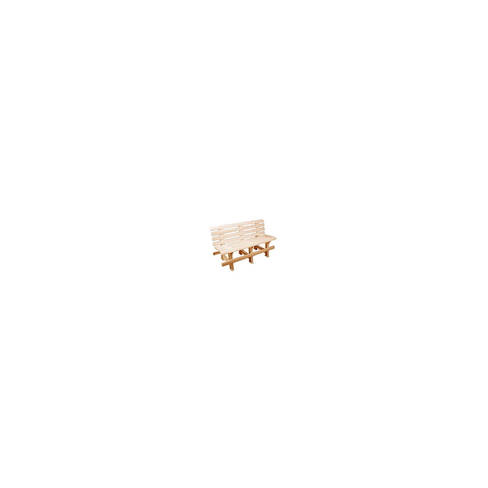 Скамейка со спинкой 120х40х70, Alternativa, бежевыйСкамейка со спинкой 120х40х70, Alternativa (Альтернатива), бежевый<br><br>Характеристики:<br><br>• вместительное сидение<br>• удобная спинка<br>• размер: 120х40х70 см<br>• материал: пластик<br>• цвет: бежевый<br>• вес: 7,598 кг<br><br>Скамейка от российского производителя Альтернатива изготовлена высококачественного пластика с хорошей износостойкостью. Скамейка легко собирается и устойчиво располагается на любой поверхности. Вы сможете с комфортом отдохнуть на природе или в доме.<br><br>Скамейку со спинкой 120х40х70, Alternativa (Альтернатива), бежевый вы можете купить в нашем интернет-магазине.<br><br>Ширина мм: 1200<br>Глубина мм: 400<br>Высота мм: 700<br>Вес г: 7598<br>Возраст от месяцев: 216<br>Возраст до месяцев: 1188<br>Пол: Унисекс<br>Возраст: Детский<br>SKU: 5475658