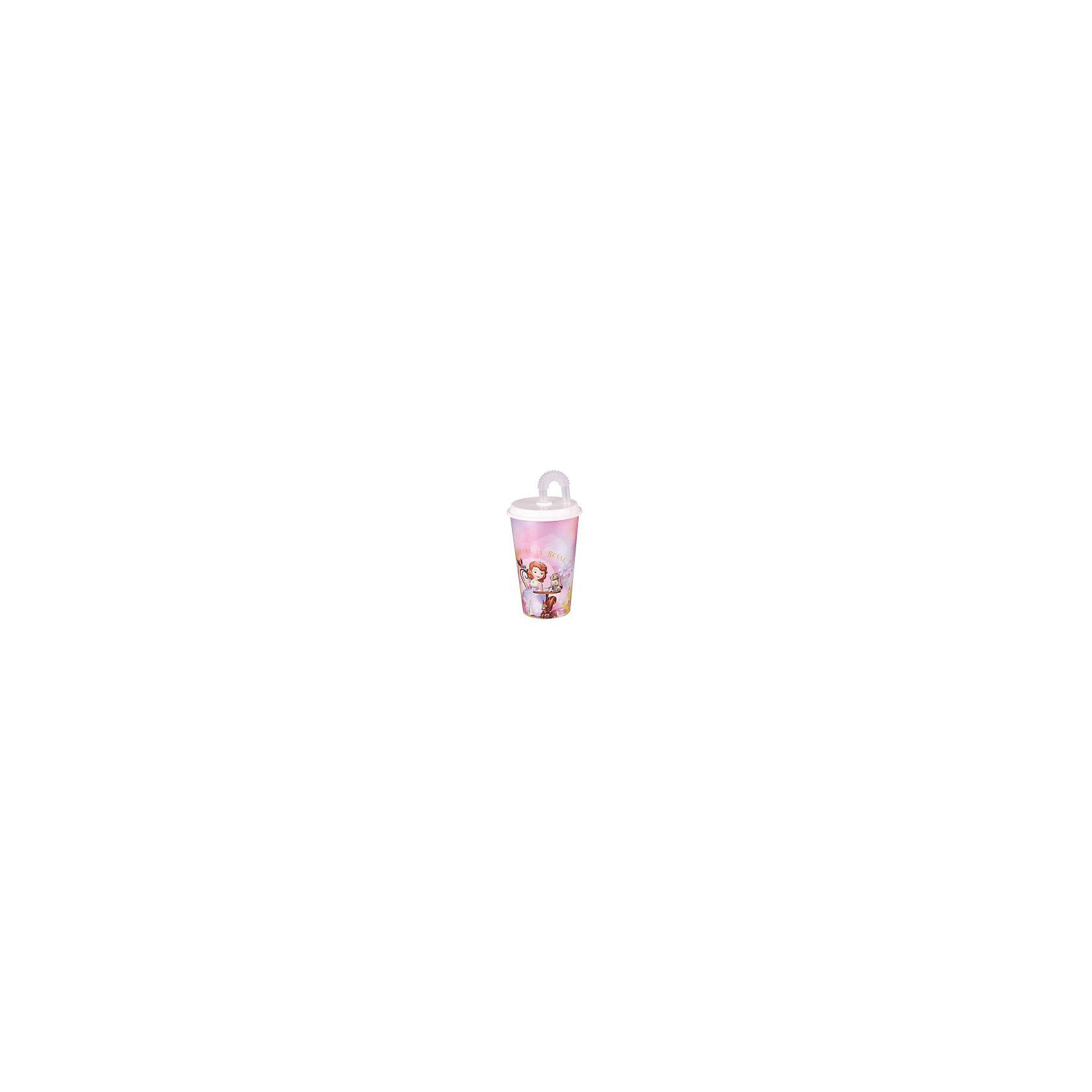 Стакан София -Дисней с крыш. и трубоч. 0,5л, AlternativaПосуда<br>Стакан София -Дисней с крыш. и трубоч. 0,5л, Alternativa (Альтернатива)<br><br>Характеристики:<br><br>• защитное отверстие для трубочки<br>• красочный рисунок с изображением принцессы Софии<br>• объем: 500 мл<br>• диаметр: 9 см<br>• размер: 9х9х18 см<br>• вес: 200 грамм<br>• материал: пластик<br><br>С принцессой Софией из мультфильма Дисней пить любимые напитки еще приятнее! Стакан оформлен красочным изображением Принцессы Софии, ее замка и друзей. Рисунок не стирается после частого использования. Стакан имеет трубочку и крышку с защитным отверстием для трубочки. Объем стакана - 500 мл.<br><br>Стакан София -Дисней с крыш. и трубоч. 0,5л, Alternativa (Альтернатива) можно купить в нашем интернет-магазине.<br><br>Ширина мм: 250<br>Глубина мм: 150<br>Высота мм: 250<br>Вес г: 200<br>Возраст от месяцев: 36<br>Возраст до месяцев: 1188<br>Пол: Женский<br>Возраст: Детский<br>SKU: 5475662