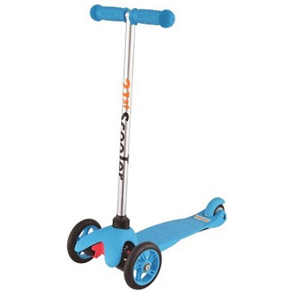 Самокат 3-х колёсный Maxi Scooter, синий, 21st scooTerСамокаты<br>Характеристики товара:<br><br>• возраст: от 3 лет;<br>• максимальная нагрузка: 40 кг;<br>• материал: пластик, алюминий, стекловолокно;<br>• материал колес: полиуретан;<br>• диаметр передних колес: 120 мм;<br>• диаметр заднего колеса: 80 мм;<br>• размер деки: 52х11 см;<br>• размер самоката: 67х23х53,5 см;<br>• вес самоката: 2,6 кг;<br>• размер упаковки: 60х25х18 см;<br>• вес упаковки: 3,1 кг;<br>• страна производитель: Китай.<br><br>Самокат трехколесный Maxi Scooter 21st ScooTer синий позволит весело и активно провести время на прогулке и поспособствует физическому развитию ребенка. Самокат подойдет для детей, которые только учатся кататься на самокате. Благодаря 2 передним колесам самокат сохраняет хорошую устойчивость, позволяя кататься начинающим юным райдерам. <br><br>Платформа выполнена из пластика с использованием стекловолокна, отличающегося прочностью. Передняя вилка оснащена амортизаторами для смягчения тряски по неровному дорожному покрытию. На ручках руля — прорезиненные накладки, предотвращающие соскальзывание ладошек во время езды.<br><br>Самокат трехколесный Maxi Scooter 21st ScooTer синий можно приобрести в нашем интернет-магазине.<br>Ширина мм: 610; Глубина мм: 450; Высота мм: 390; Вес г: 2400; Возраст от месяцев: 36; Возраст до месяцев: 2147483647; Пол: Унисекс; Возраст: Детский; SKU: 5475695;