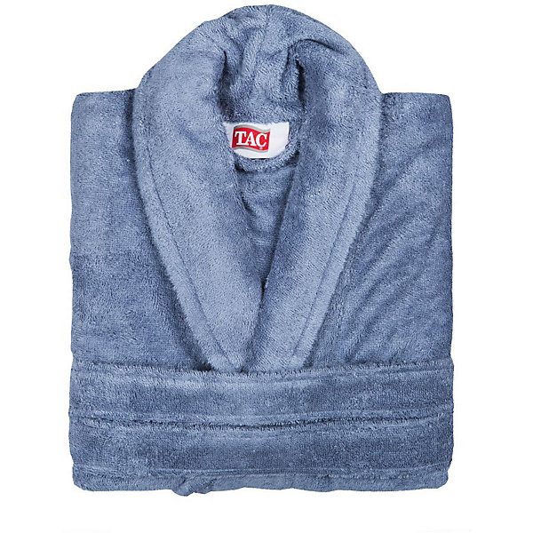 Халат махровый Maison Bambu, S/M, TAC, синий (k.mavi)Халаты<br>Характеристики:<br><br>• Вид домашнего текстиля: махровый халат<br>• Размер: S/M<br>• Пол: унисекс<br>• Рисунок: без рисунка<br>• Материал: хлопок, 50% хлопок; бамбук, 50%<br>• Цвет: синий<br>• Плотность полотна: 320 гр/м2 <br>• Силуэт: прямой<br>• Рукав: длинный<br>• Воротник: отложной<br>• Застежка: пояс<br>• Вес в упаковке: 1 кг 030 г<br>• Размеры упаковки (Д*Ш*В): 39*10*29 см<br>• Особенности ухода: машинная стирка <br><br>Халат махровый Maison Bambu, S/M, TAC, синий (k.mavi) от наиболее популярного бренда на отечественном рынке среди производителей комплектов постельного белья и текстильных принадлежностей, выпуском которого занимается производственная компания, являющаяся частью мирового холдинга Zorlu Holding Textiles Group. Халат выполнен из сочетания натурального хлопка и бамбукового волокна, что обеспечивает гипоаллергенность, высокую износоустойчивость, повышенные гигкоскопические и антибактериальные свойства изделия. Благодаря высокой степени плотности махры, халат отлично впитывает влагу, но при этом остается мягким. <br><br>Ворс окрашен стойкими нетоксичными красителями, который не оставляет запаха и обеспечивает ровный окрас. Изделие сохраняет свой цвет и форму даже при частых стирках. Халат прямого кроя с длинными рукавами и отложным воротником идеально подходит для посещения бани или сауны, а в прохладные вечера обеспечит комфорт и уют своему владельцу. Выполнен в лиловом цвете без рисунка.<br><br>Халат махровый Maison Bambu, S/M, TAC, синий (k.mavi) можно купить в нашем интернет-магазине.<br>Ширина мм: 290; Глубина мм: 90; Высота мм: 400; Вес г: 1300; Возраст от месяцев: 216; Возраст до месяцев: 1188; Пол: Унисекс; Возраст: Детский; SKU: 5476353;