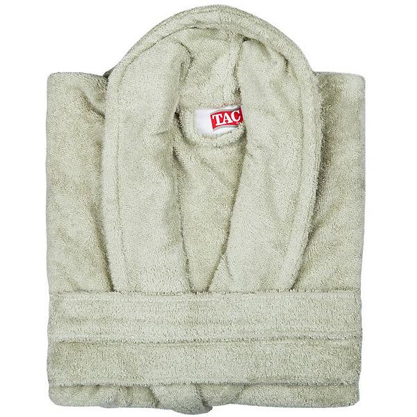 Халат махровый Maison Bambu, L/XL, TAC, фисташковый (cagla)Полотенца<br>Характеристики:<br><br>• Вид домашнего текстиля: махровый халат<br>• Размер международный/российский: L/XL<br>• Пол: унисекс<br>• Рисунок: без рисунка<br>• Материал: хлопок, 50% хлопок; бамбук, 50%<br>• Цвет: фисташковый<br>• Плотность полотна: 320 гр/м2 <br>• Силуэт: прямой<br>• Рукав: длинный<br>• Воротник: отложной<br>• Застежка: пояс<br>• Вес в упаковке: 1 кг 130 г<br>• Размеры упаковки (Д*Ш*В): 40*10*32 см<br>• Особенности ухода: машинная стирка <br><br>Халат махровый Maison Bambu, L/XL, TAC, фисташковый (cagla) от наиболее популярного бренда на отечественном рынке среди производителей комплектов постельного белья и текстильных принадлежностей, выпуском которого занимается производственная компания, являющаяся частью мирового холдинга Zorlu Holding Textiles Group. Халат выполнен из сочетания натурального хлопка и бамбукового волокна, что обеспечивает гипоаллергенность, высокую износоустойчивость, повышенные гигкоскопические и антибактериальные свойства изделия. Благодаря высокой степени плотности махры, халат отлично впитывает влагу, но при этом остается мягким. <br><br>Ворс окрашен стойкими нетоксичными красителями, который не оставляет запаха и обеспечивает ровный окрас. Изделие сохраняет свой цвет и форму даже при частых стирках. Халат прямого кроя с длинными рукавами и отложным воротником идеально подходит для посещения бани или сауны, а в прохладные вечера обеспечит комфорт и уют своему владельцу. Выполнен в фисташковом цвете без рисунка.<br><br>Халат махровый Maison Bambu, L/XL, TAC, фисташковый (cagla) можно купить в нашем интернет-магазине.<br>Ширина мм: 290; Глубина мм: 90; Высота мм: 400; Вес г: 1400; Возраст от месяцев: 216; Возраст до месяцев: 1188; Пол: Унисекс; Возраст: Детский; SKU: 5476364;