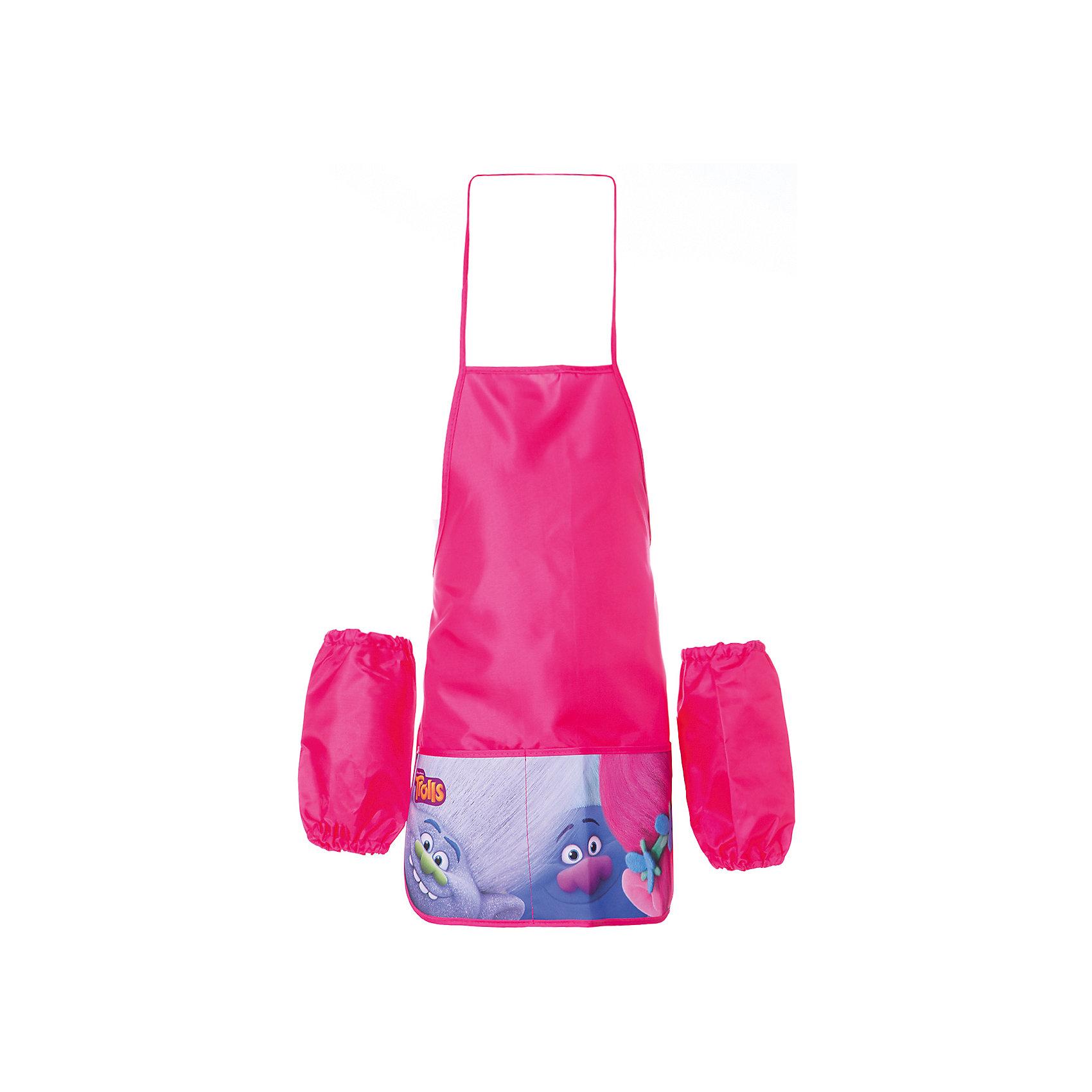 Фартук для труда с карманами ТроллиТролли<br>Фартук для труда с карманами Тролли <br><br>Характеристики:<br><br>• В набор входит: фартук, нарукавники.<br>• Состав: полиэстер<br>• Размер упаковки: 18 * 2 * 18 см.<br>• Вес: 120 г.<br>• Для детей в возрасте: от 3-х лет<br>• Страна производитель: Китай<br><br>Яркий и насыщенный розовый цвет понравится юным мастерицам и отлично подойдёт к любому наряду, а прочный и водонепроницаемый материал защитит одежду от пятен и неприятных творческих сюрпризов. Кроме самого фартука в набор входят и нарукавники и такого же материала. Фартук удобен в использовании также благодаря двум передним карманам, в которые можно складывать необходимые мелочи.  <br><br>Фартук для труда с карманами Тролли можно купить в нашем интернет-магазине.<br><br>Ширина мм: 20<br>Глубина мм: 180<br>Высота мм: 180<br>Вес г: 60<br>Возраст от месяцев: 36<br>Возраст до месяцев: 2147483647<br>Пол: Женский<br>Возраст: Детский<br>SKU: 5478249