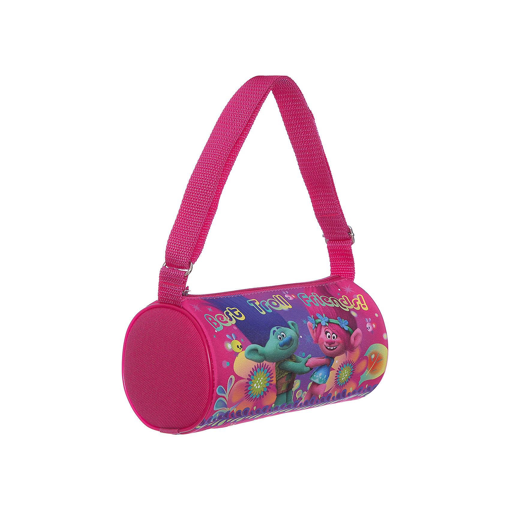 Сумка для девочки ТроллиДетские сумки<br>Сумка для девочки Тролли<br><br>Характеристики:<br><br>• Особенности: одно отделение, держит форму<br>• Застёжка: молния<br>• Состав: полиэстер, пластик<br>• Размер: 22 * 12 * 12 см.<br>• Вес: 90 гр.<br>• Для детей в возрасте: от 5 до 10 лет<br>• Страна производитель: Китай<br><br>Благодаря прочному пластиковому каркасу сумочка держит свою круглую форму и позволяет легко найти в ней всё необходимое. Функциональная сумочка с одним общим отделением на молнии подойдёт как для школьных принадлежностей, так и для повседневных мелочей. Удобная прочная ручка регулируется по длине и позволяет носить сумочку как будет удобнее её хозяйке. <br> <br>Сумку для девочки Тролли можно купить в нашем интернет-магазине.<br><br>Ширина мм: 120<br>Глубина мм: 220<br>Высота мм: 120<br>Вес г: 90<br>Возраст от месяцев: 36<br>Возраст до месяцев: 2147483647<br>Пол: Женский<br>Возраст: Детский<br>SKU: 5478259