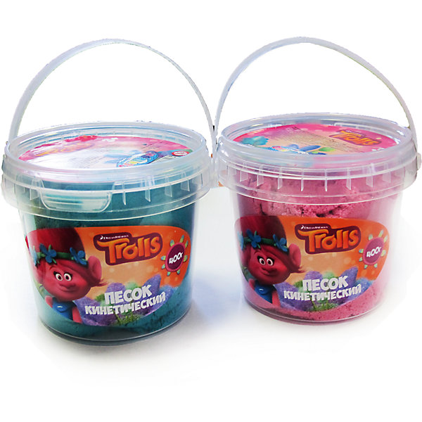 Песок кинетический Тролли, 400 г, цвета: розовый и изумрудныйТролли<br>Песок кинетический Тролли, 400 г, цвета: розовый или изумрудный<br><br>Характеристики:<br><br>• В набор входит: ведёрко, 400 гр. розовый или изумрудный<br>• Размер упаковки: 10 * 8 * 9 см.<br>• Состав: кварцевый песок, Е900<br>• Вес: 400 гр.<br>• Для детей в возрасте: от 3-х лет<br>• Страна производитель: Китай<br><br>Рассыпанный песок не распадается на части, его легко собирать с помощью другого компа, частички просто присоединяются друг к другу. Кинетический песок – это неблагоприятная среда для развития бактерий, поэтому играть с ним безопасно для детей. Песок не высыхает на улице, а если он был загрязнен, то его можно промыть водой и просушить, структура от этого не поменяется. <br><br>Песок кинетический Тролли, 400 г, цвета: розовый или изумрудный можно купить в нашем интернет-магазине.<br>Ширина мм: 93; Глубина мм: 100; Высота мм: 80; Вес г: 400; Возраст от месяцев: 36; Возраст до месяцев: 2147483647; Пол: Женский; Возраст: Детский; SKU: 5478268;