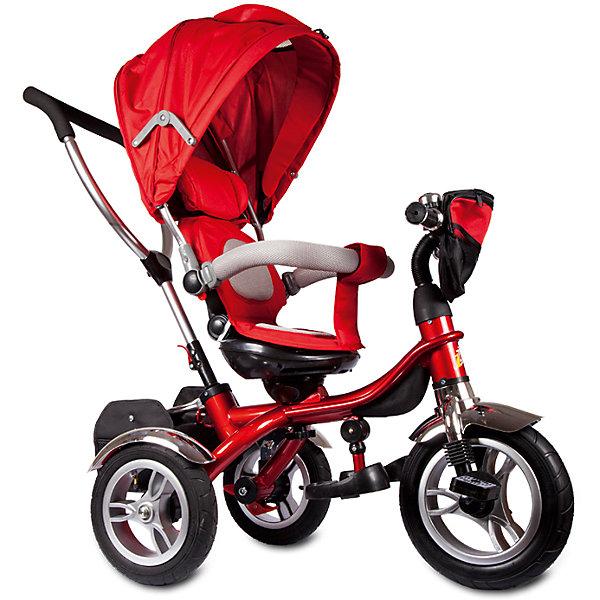 Трехколесный велосипед Голд Люкс, с поворотным сиденьем, ZilmerВелосипеды детские<br>Характеристики товара:<br><br>• материал: металл, полимер, текстиль<br>• цвет: красный<br>• диаметр колес: переднее - 12 дюймов, задние - 10 дюймов<br>• блокировка колес<br>• кресло вращается<br>• удобный руль <br>• безопасные поручни<br>• управление ручкой для родителей<br>• подставка под ноги<br>• корзинка<br>• колеса надувные<br>• надежные материалы<br>• козырек<br>• продуманная конструкция<br>• яркий цвет<br>• возраст: от 12 мес<br>• размер: 75x39x37 см<br>• вес: 9 кг<br>• страна производства: Китай<br><br>Подарить родителям и малышу такой велосипед - значит, помочь развитию ребенка. Он способствует скорейшему развитию способности ориентироваться в пространстве, развивает физические способности, мышление и ловкость. Помимо этого, кататься на нём - очень увлекательное занятие!<br><br>Этот велосипед разработан специально для малышей. Он чем-то похож на коляску: есть родительская ручка и специальные подставки под ножки. С помощью ручки родители легко координируют направление движения. Данная модель выполнена в ярком дизайне, отличается продуманной конструкцией и деталями, которые обеспечивают безопасность ребенка. Отличный подарок для активного малыша!<br><br>Трехколесный велосипед Голд Люкс, с поворотным сиденьем, от бренда Zilmer можно купить в нашем интернет-магазине.<br>Ширина мм: 750; Глубина мм: 390; Высота мм: 370; Вес г: 12900; Возраст от месяцев: 12; Возраст до месяцев: 36; Пол: Унисекс; Возраст: Детский; SKU: 5478513;