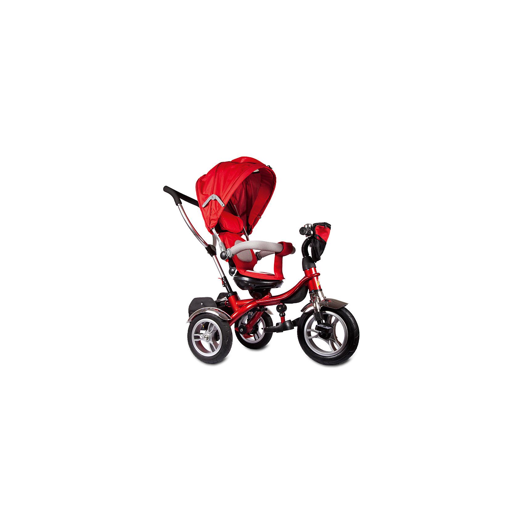 Трехколесный велосипед Голд Люкс, с поворотным сиденьем, ZilmerВелосипеды детские<br>Характеристики товара:<br><br>• материал: металл, полимер, текстиль<br>• цвет: красный<br>• диаметр колес: переднее - 12 дюймов, задние - 10 дюймов<br>• блокировка колес<br>• кресло вращается<br>• удобный руль <br>• безопасные поручни<br>• управление ручкой для родителей<br>• подставка под ноги<br>• корзинка<br>• колеса надувные<br>• надежные материалы<br>• козырек<br>• продуманная конструкция<br>• яркий цвет<br>• возраст: от 12 мес<br>• размер: 75x39x37 см<br>• вес: 9 кг<br>• страна производства: Китай<br><br>Подарить родителям и малышу такой велосипед - значит, помочь развитию ребенка. Он способствует скорейшему развитию способности ориентироваться в пространстве, развивает физические способности, мышление и ловкость. Помимо этого, кататься на нём - очень увлекательное занятие!<br><br>Этот велосипед разработан специально для малышей. Он чем-то похож на коляску: есть родительская ручка и специальные подставки под ножки. С помощью ручки родители легко координируют направление движения. Данная модель выполнена в ярком дизайне, отличается продуманной конструкцией и деталями, которые обеспечивают безопасность ребенка. Отличный подарок для активного малыша!<br><br>Трехколесный велосипед Голд Люкс, с поворотным сиденьем, от бренда Zilmer можно купить в нашем интернет-магазине.<br><br>Ширина мм: 750<br>Глубина мм: 390<br>Высота мм: 370<br>Вес г: 12900<br>Возраст от месяцев: 12<br>Возраст до месяцев: 36<br>Пол: Унисекс<br>Возраст: Детский<br>SKU: 5478513