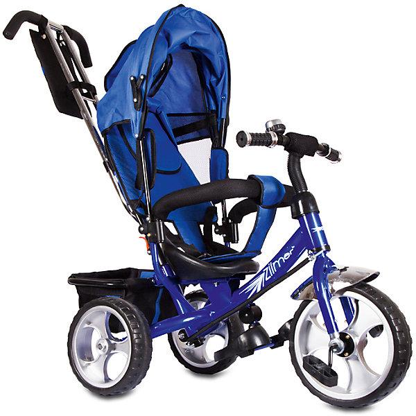 Трехколесный велосипед Сильвер Люкс, синий, ZilmerВелосипеды детские<br>Характеристики товара:<br><br>• материал: металл, полимер, текстиль<br>• цвет: синий<br>• диаметр колес: переднее - 304,8 мм (12 дюймов), задние - 254 мм (10 дюймов)<br>• блокировка колес<br>• удобный руль <br>• безопасные поручни<br>• управление ручкой для родителей<br>• подставка под ноги<br>• корзинка<br>• материал колес: EVA<br>• надежные материалы<br>• козырек<br>• продуманная конструкция<br>• яркий цвет<br>• возраст: от 12 мес<br>• размер: 68х28х36 см<br>• вес: 9 кг<br>• страна производства: Китай<br><br>Подарить родителям и малышу такой велосипед - значит, помочь развитию ребенка. Он способствует скорейшему развитию способности ориентироваться в пространстве, развивает физические способности, мышление и ловкость. Помимо этого, кататься на нём - очень увлекательное занятие!<br><br>Этот велосипед разработан специально для малышей. Он чем-то похож на коляску: есть родительская ручка и специальные подставки под ножки. С помощью ручки родители легко координируют направление движения. Данная модель выполнена в ярком дизайне, отличается продуманной конструкцией и деталями, которые обеспечивают безопасность ребенка. Отличный подарок для активного малыша!<br><br>Трехколесный велосипед Сильвер Люкс, синий, от бренда Zilmer можно купить в нашем интернет-магазине.<br>Ширина мм: 625; Глубина мм: 380; Высота мм: 290; Вес г: 10000; Возраст от месяцев: 12; Возраст до месяцев: 36; Пол: Мужской; Возраст: Детский; SKU: 5478515;