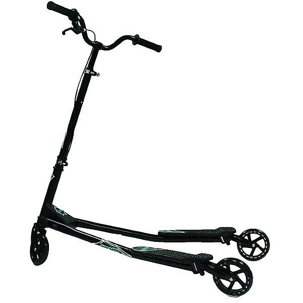 Самокат ZS-145, раздвижной, 3 колеса, черно-зеленый,  ZilmerСамокаты<br>Характеристики товара:<br><br>• материал: металл, полимер<br>• цвет: черный<br>• диаметр колес: 14,5 см<br>• ручной тормоз<br>• удобный руль <br>• максимальный вес: 80 кг<br>• износостойкие колесам из полиуретана<br>• возможность отрегулировать руль под рост ребенка<br>• комплектация: самокат, ключи для сборки, инструкция на русском языке<br>• надежные материалы<br>• продуманная конструкция<br>• стильный дизайн<br>• возраст: от 8 лет<br>• размер: 103х63х100 см<br>• вес: 9 кг<br>• страна производства: Китай<br><br>Подарить ребенку такой самокат - значит, помочь его развитию! Самокат способствует скорейшему развитию способности ориентироваться в пространстве, развивает физические способности, мышление и ловкость. Помимо этого, кататься на нём - очень увлекательное занятие!<br><br>Этот самокат отличается необычной конструкцией (3 колеса) и особой системой управления. Он устойчивый, прочный и удобный. Данная модель выполнена в стильном дизайне, отличается продуманной конструкцией. Отличный подарок для активного ребенка!<br><br>Самокат ZS-145, раздвижной, 3 колеса, черно-зеленый, от бренда Zilmer можно купить в нашем интернет-магазине.<br><br>Ширина мм: 1060<br>Глубина мм: 215<br>Высота мм: 180<br>Вес г: 10500<br>Возраст от месяцев: 84<br>Возраст до месяцев: 1188<br>Пол: Унисекс<br>Возраст: Детский<br>SKU: 5478518