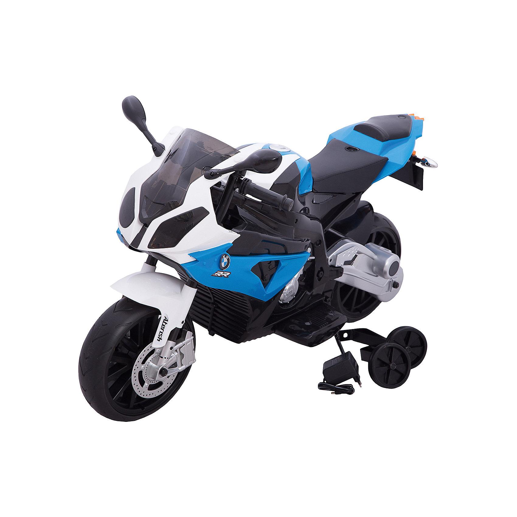 Электромотоцикл BMW S1000RR, со светом и звуком, ZilmerЭлектромобили<br>Характеристики товара:<br><br>• материал: металл, полимер<br>• цвет: синий<br>• аккумуляторная батарея: 12V/7Ah<br>• удобный руль <br>• световые и звуковые эффекты<br>• удобное сиденье<br>• легко управляется<br>• надежные материалы<br>• продуманная конструкция<br>• стильный дизайн<br>• возраст: от 3 лет<br>• размер: 110x41x68 см<br>• вес: 14 кг<br>• страна производства: Китай<br><br>О таком электромотоцикле мечтают многие мальчишки! Он очень красиво выглядит, также мотоцикл способствует скорейшему развитию способности ориентироваться в пространстве, развивает физические способности, мышление и ловкость. Помимо этого, кататься на нём - очень увлекательное занятие!<br><br>Этот мотоцикл выделяется устойчивой конструкцией и удобным сиденьем, а также световыми и звуковыми эффектами. Данная модель выполнена в стильном дизайне, отличается продуманной конструкцией. Легко управляется даже малышами. Отличный подарок для активного ребенка!<br><br>Электромобиль BMW S1000RR, со светом и звуком, от бренда Zilmer можно купить в нашем интернет-магазине.<br><br>Ширина мм: 1100<br>Глубина мм: 410<br>Высота мм: 680<br>Вес г: 18100<br>Возраст от месяцев: 36<br>Возраст до месяцев: 72<br>Пол: Унисекс<br>Возраст: Детский<br>SKU: 5478520