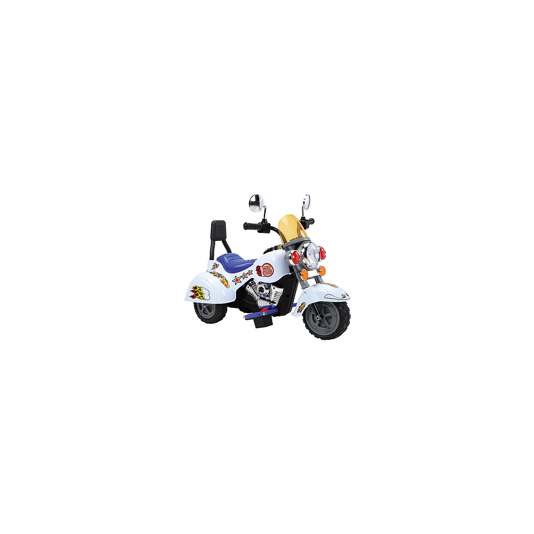 Электромотоцикл Мотоцикл-B19, mp3, со светом и звуком, ZilmerЭлектромобили<br>Характеристики товара:<br><br>• материал: металл, полимер<br>• цвет: белый<br>• аккумуляторная батарея: 6V/4,5Ah<br>• удобный руль <br>• световые и звуковые эффекты<br>• удобное сиденье<br>• легко управляется<br>• надежные материалы<br>• продуманная конструкция<br>• стильный дизайн<br>• возраст: от 3 лет<br>• размер: 70x49x40 см<br>• вес: 7 кг<br>• страна производства: Китай<br><br>О таком электромотоцикле мечтают многие мальчишки! Он очень красиво выглядит, также мотоцикл способствует скорейшему развитию способности ориентироваться в пространстве, развивает физические способности, мышление и ловкость. Помимо этого, кататься на нём - очень увлекательное занятие!<br><br>Этот мотоцикл выделяется устойчивой конструкцией и удобным сиденьем, а также световыми и звуковыми эффектами. Данная модель выполнена в стильном дизайне, отличается продуманной конструкцией. Легко управляется даже малышами. Отличный подарок для активного ребенка!<br><br>Электромобиль Мотоцикл-B19, mp3, со светом и звуком, от бренда Zilmer можно купить в нашем интернет-магазине.<br><br>Ширина мм: 700<br>Глубина мм: 490<br>Высота мм: 400<br>Вес г: 10300<br>Возраст от месяцев: 36<br>Возраст до месяцев: 72<br>Пол: Унисекс<br>Возраст: Детский<br>SKU: 5478522