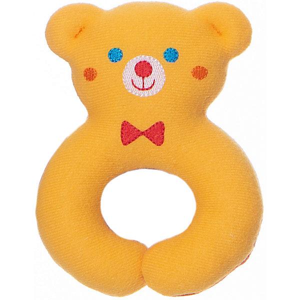 Игрушка Мистер Тед, МякишиМягкие игрушки<br>Игрушка Мистер Тед, Мякиши.<br><br>Характеристики:<br><br>• Возраст: с рождения<br>• Размер: 10,5х15,5х4 см.<br>• Материал: трикотаж, холлофайбер, пластик<br><br>Друзья, знакомьтесь! Мистер Тед от компании Мякиши - это первая погремушка для Вашего малыша. Игрушка «Мистер Тед» выполнена в виде милого медвежонка с забавной мордочкой. Погремушка имеет удобную для захвата форму, сшита из приятного на ощупь мягкого трикотажа. Все декоративные элементы глазки, носик и элегантная бабочка вышиты. Нижняя часть погремушки имеет форму кольца, благодаря чему ее можно закрепить на детской коляске или кроватке, чтобы улыбающийся медвежонок всегда был на виду у ребенка. <br><br>Забавная мягкая игрушка непременно развеселит вашего малыша. Игрушка стимулирует тактильные навыки ребенка, работу зрительных и слуховых рецепторов, а также развивает мелкую моторику. Яркие насыщенные цвета, фактурная вышивка, и погремушка будут способствовать эмоциональному развитию малыша, совершенствованию сенсорики, повышению двигательной активности. Изготовлено из гипоаллергенных материалов.<br><br>Игрушку Мистер Тед, Мякиши можно купить в нашем интернет-магазине.<br><br>Ширина мм: 160<br>Глубина мм: 250<br>Высота мм: 40<br>Вес г: 110<br>Возраст от месяцев: 0<br>Возраст до месяцев: 36<br>Пол: Унисекс<br>Возраст: Детский<br>SKU: 5478528