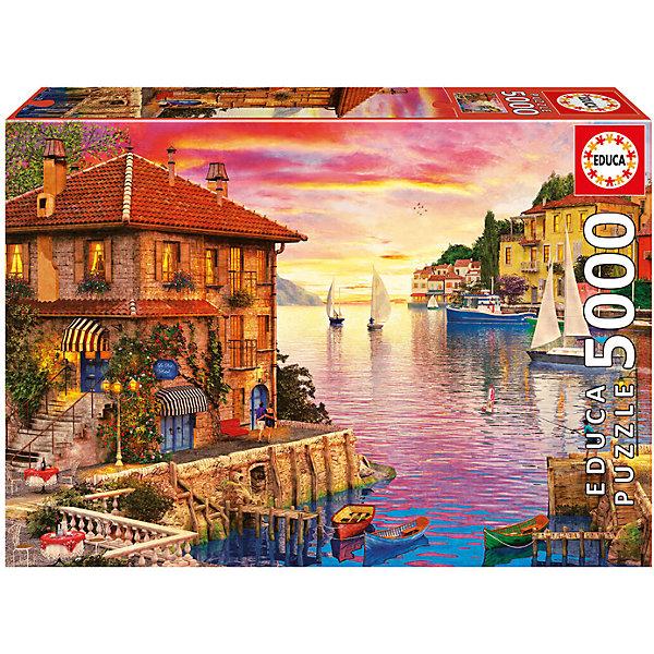 Пазл Средиземноморская гавань, 5000 деталей, EducaПазлы классические<br>Характеристики товара:<br><br>• возраст: от 3 лет;<br>• материал: картон;<br>• в комплекте: 5000 деталей;<br>• размер собранного пазла: 157х107 см;<br>• размер упаковки: 45х32х9 см;<br>• вес упаковки: 2,67 кг;<br>• страна производитель: Испания.<br><br>Пазл «Средиземноморская гавань» Educa позволит увлекательно провести дома время в компании семьи или друзей. Пазл воспроизводит картину Доминика Дэвисона, изображающую тихую гавань с необычными домиками. В процессе сборки пазла у детей развивается мелкая моторика рук, усидчивость, внимательность к деталям, логическое мышление.<br><br>Пазл «Средиземноморская гавань» Educa можно приобрести в нашем интернет-магазине.<br>Ширина мм: 460; Глубина мм: 320; Высота мм: 80; Вес г: 2866; Возраст от месяцев: 60; Возраст до месяцев: 2147483647; Пол: Унисекс; Возраст: Детский; SKU: 5478587;
