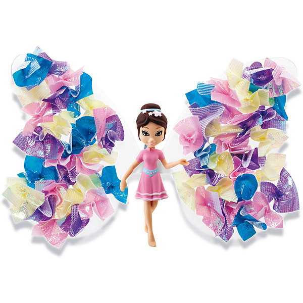 Игровой набор Фея Букетик, Shimmer WingНаборы стилиста и дизайнера<br>Характеристики товара:• возраст: от 5 лет;<br>• материал: пластик;<br>• в комплекте: кукла, подставка для куклы, крылья, инструмент для декорирования, 80 кусочков ткани, питомец, крылья для питомца;<br>• размер упаковки: 21х20х8 см;<br>• вес упаковки: 136 гр.;<br>• страна производитель: Китай.<br><br>Игровой набор «Фея Букетик» Shimmer Wing включает в себя очаровательную фею Букетик и ее питомца. Букетик одета в розовое платье с голубым поясом, а голову украшает диадема.<br><br>Дополнят образ феи яркие крылышки, которые девочке предстоит украсить самой, проявив фантазию и воображение. При помощи специального инструмента и блестящей бумаги крылышки преображаются и становятся необычными и неповторимыми. <br><br>Игровой набор «Фея Букетик» Shimmer Wing можно приобрести в нашем интернет-магазине.<br><br>Ширина мм: 90<br>Глубина мм: 200<br>Высота мм: 210<br>Вес г: 141<br>Возраст от месяцев: 60<br>Возраст до месяцев: 2147483647<br>Пол: Женский<br>Возраст: Детский<br>SKU: 5478829