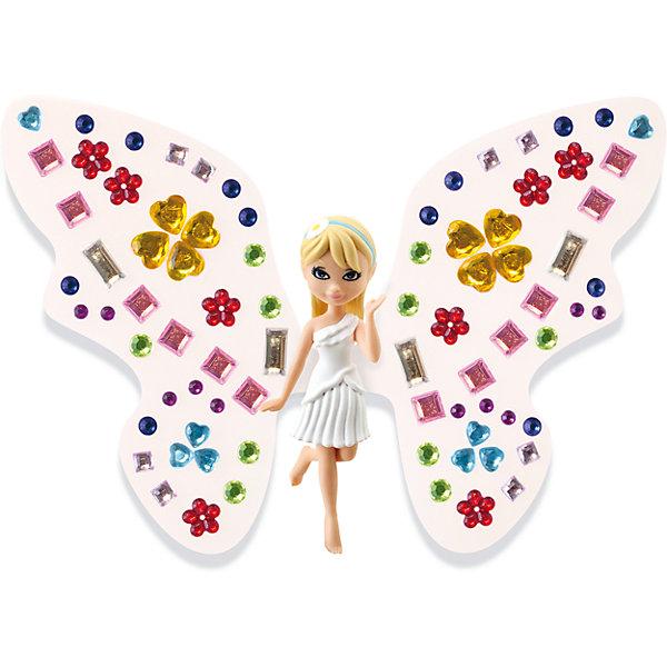 Игровой набор Фея Дейзи, Shimmer WingКуклы<br>Характеристики товара:<br><br>• возраст: от 5 лет;<br>• материал: пластик;<br>• в комплекте: кукла, подставка для куклы, крылья, 2 листа со стразами, питомец, крылья для питомца;<br>• размер упаковки: 21х20х8 см;<br>• вес упаковки: 136 гр.;<br>• страна производитель: Китай.<br><br>Игровой набор «Фея Дейзи» Shimmer Wing включает в себя очаровательную фею Дейзи и ее питомца. Дейзи одета в белоснежное платье. Дополнят образ феи яркие крылышки, которые девочке предстоит украсить самой с помощью переливающихся страз, проявив фантазию и воображение. <br><br>Игровой набор «Фея Дейзи» Shimmer Wing можно приобрести в нашем интернет-магазине.<br><br>Ширина мм: 90<br>Глубина мм: 200<br>Высота мм: 210<br>Вес г: 141<br>Возраст от месяцев: 60<br>Возраст до месяцев: 2147483647<br>Пол: Женский<br>Возраст: Детский<br>SKU: 5478830